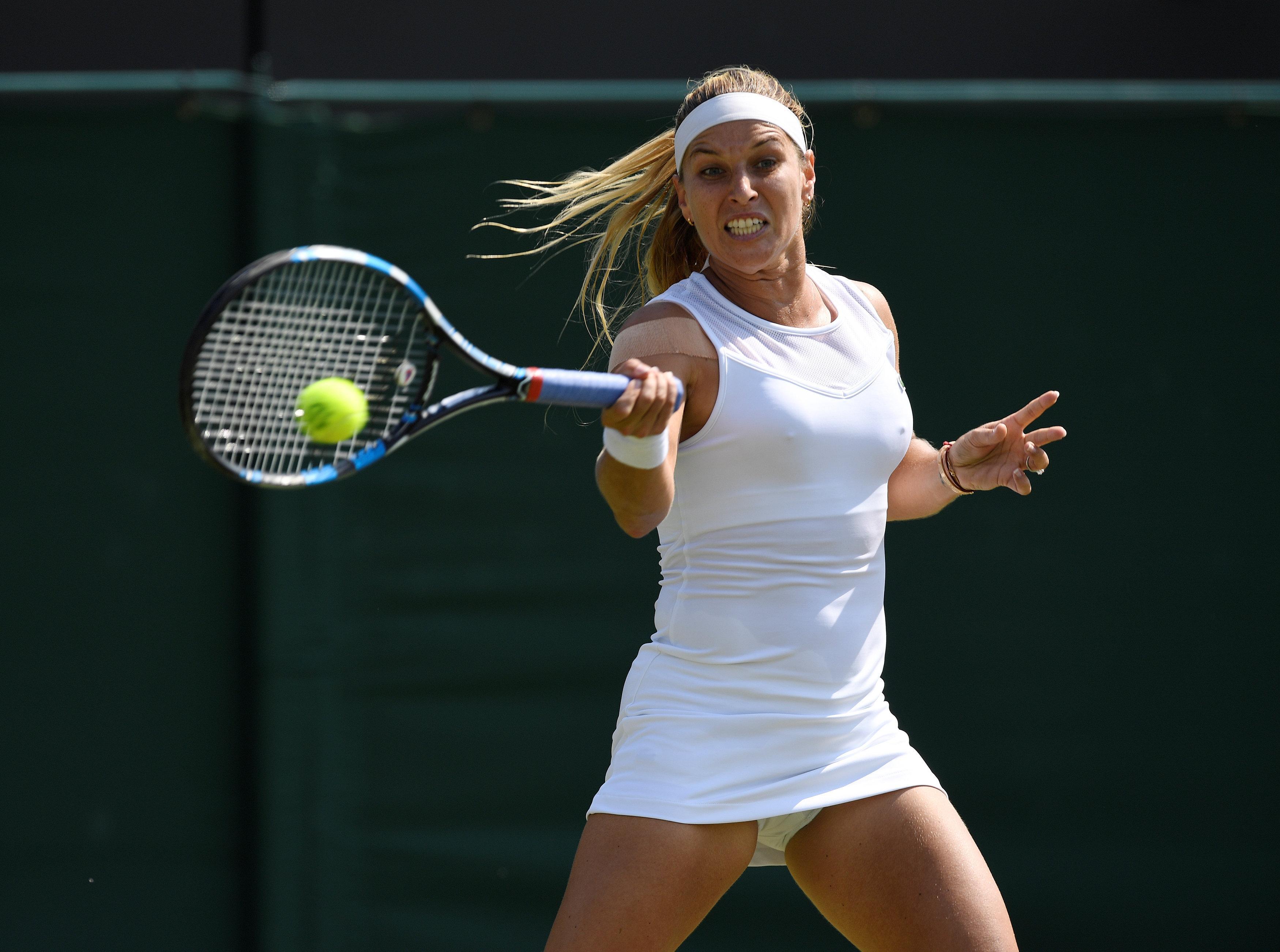 The ladies' singles last-16 kicks-off on day one of week two