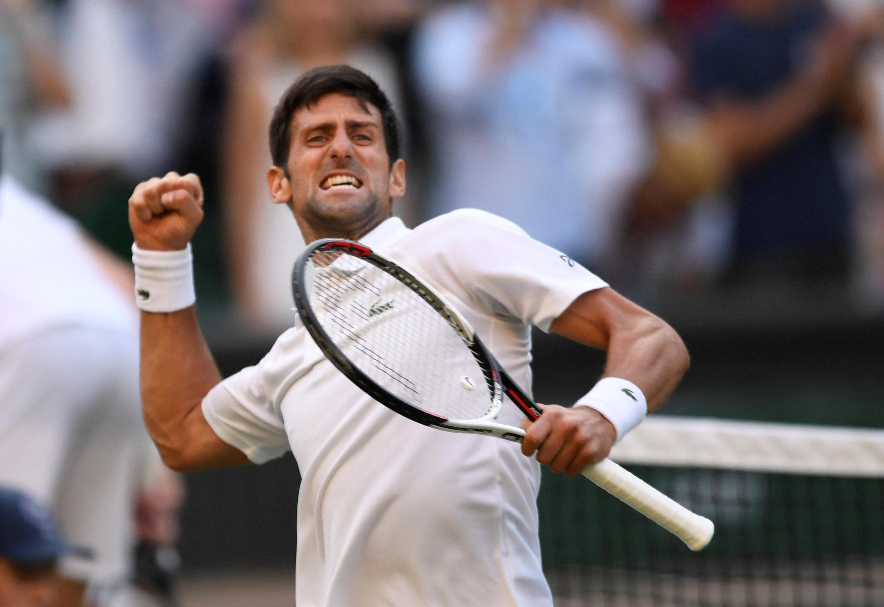 The Novak Djokovic we all know came to party against Kyle Edmund