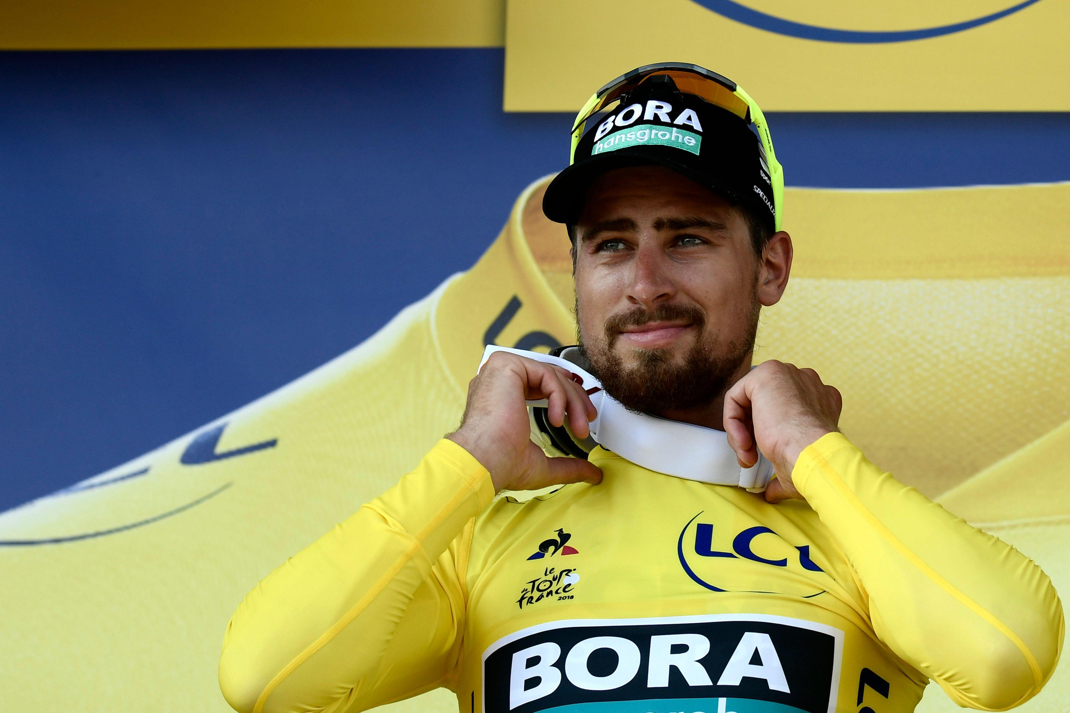 Slovakian superstar Sagan will wear the Yellow Jersey