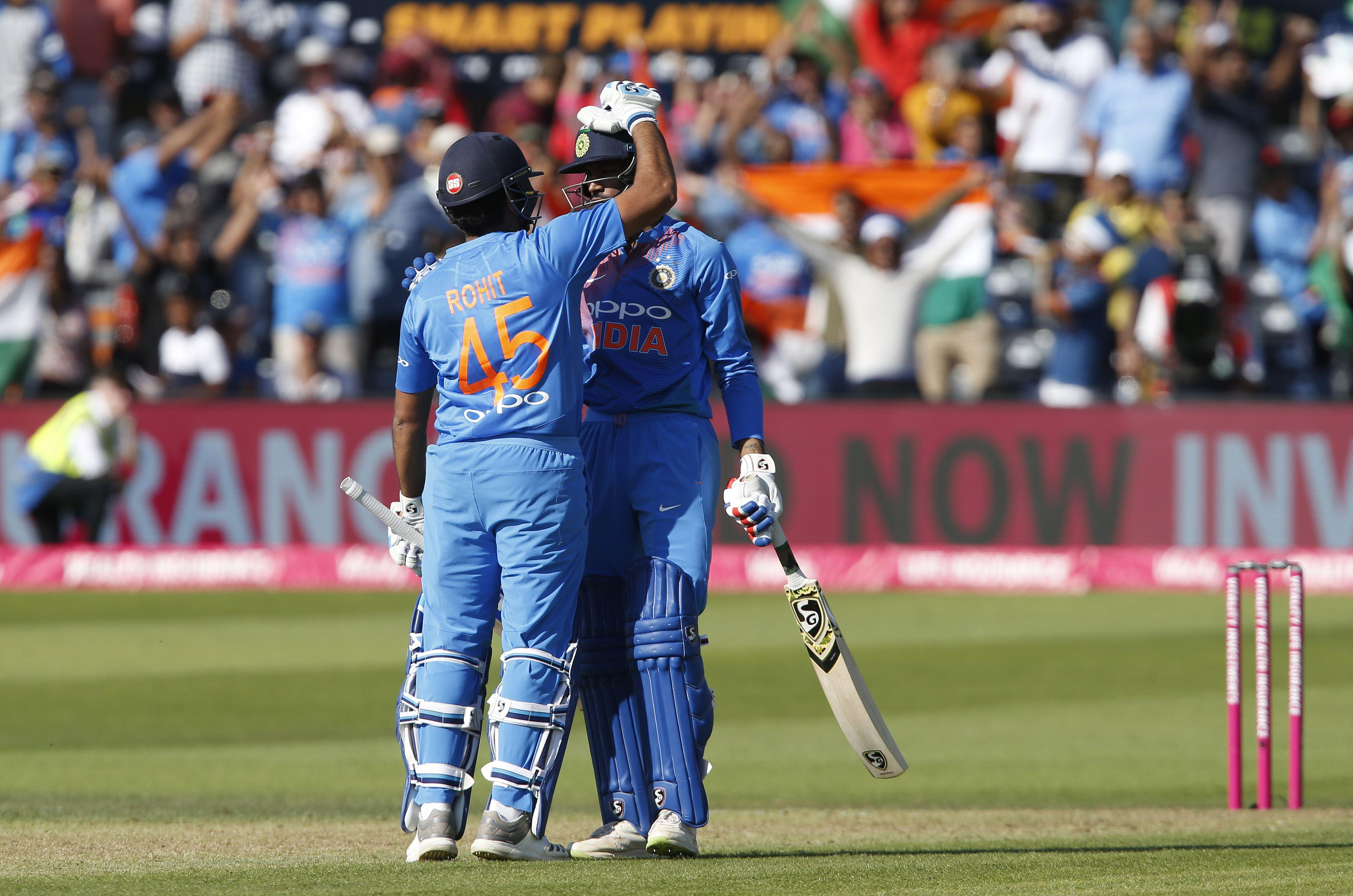 Rohit Sharma guided India to victory in Bristol to win the T20 series