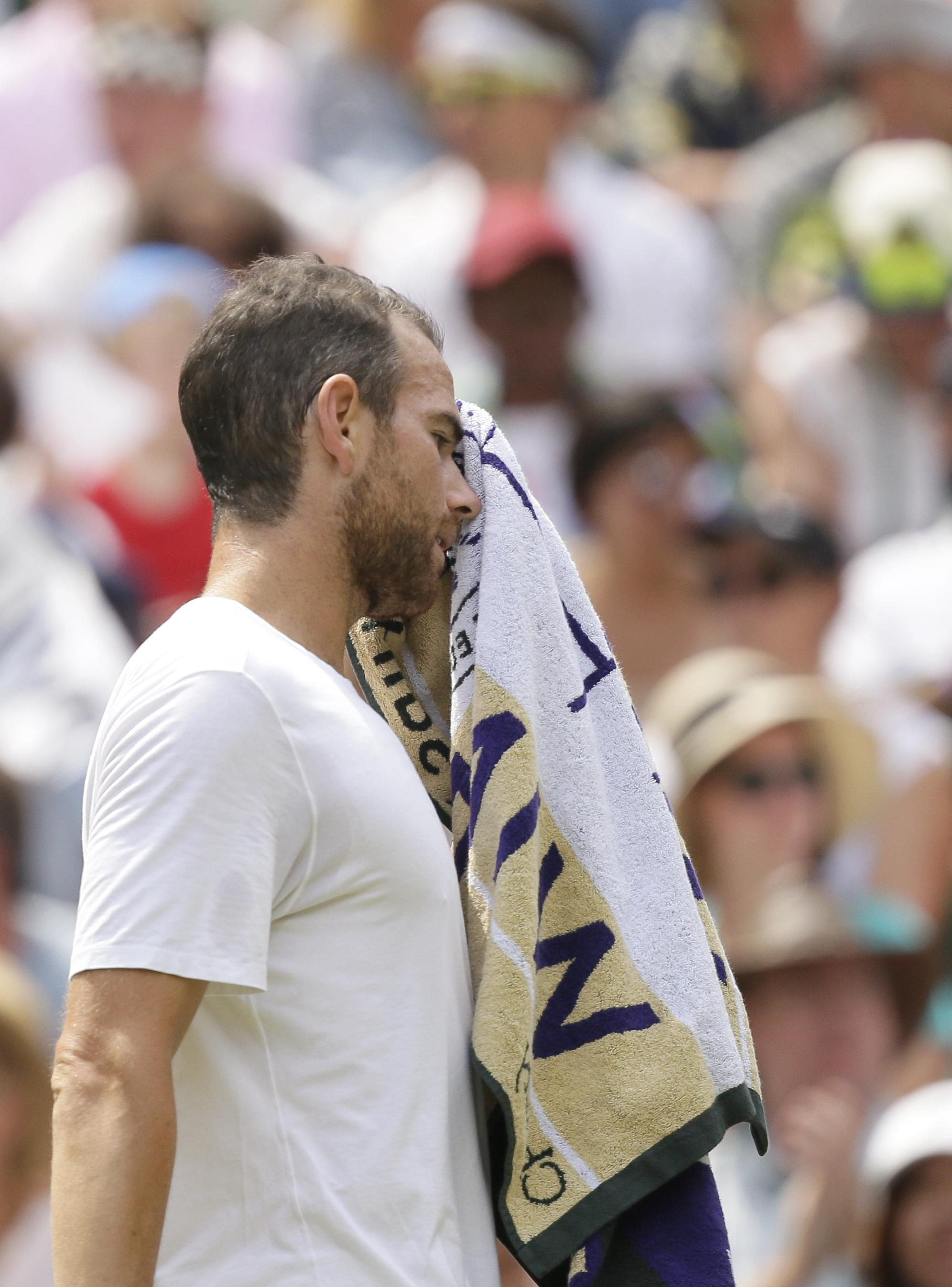Adrian Mannarino had no answer for an inspired Roger Federer
