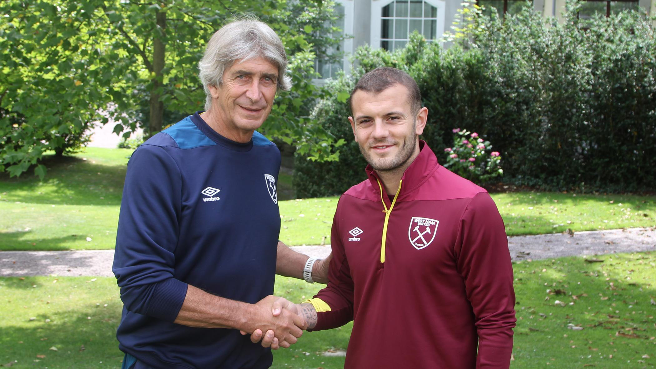 New West Ham boss Manuel Pellegrini is convinced his major summer signing jack Wilshere can prove the doubters wrong