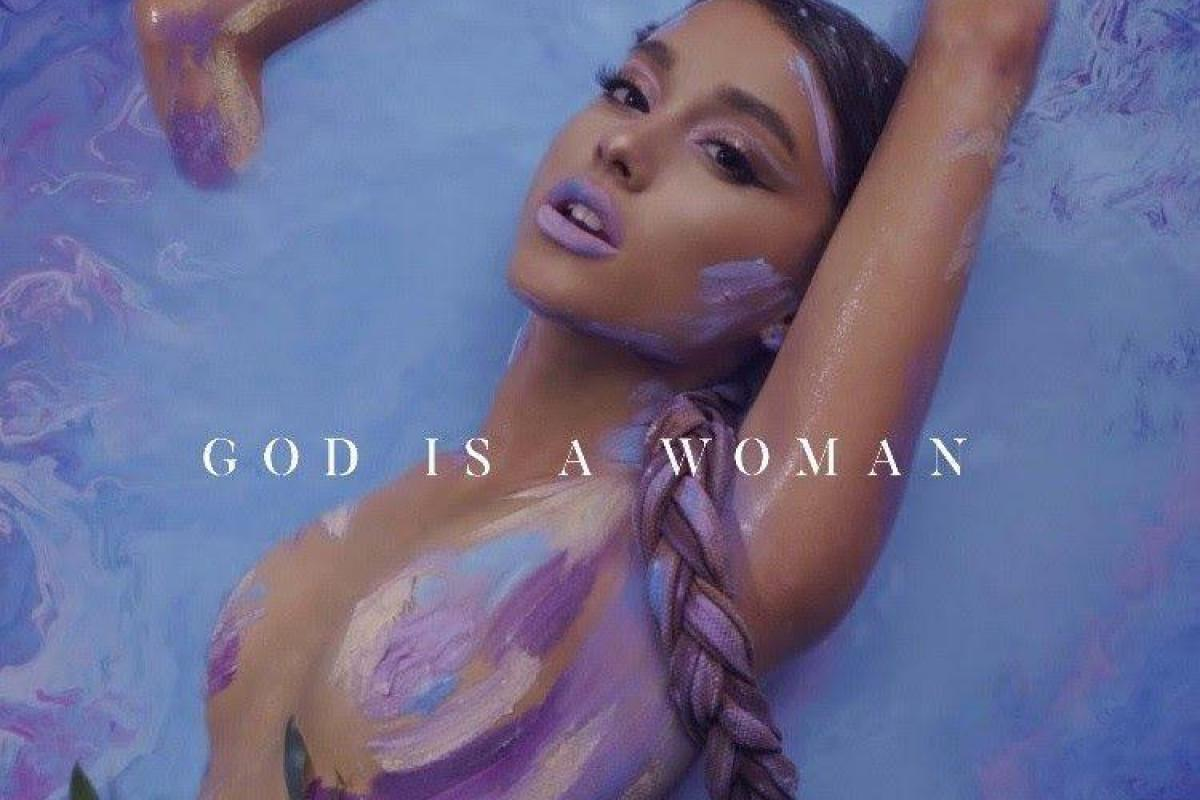 Ariana Grande Nude ariana grande goes topless in nothing but body paint for