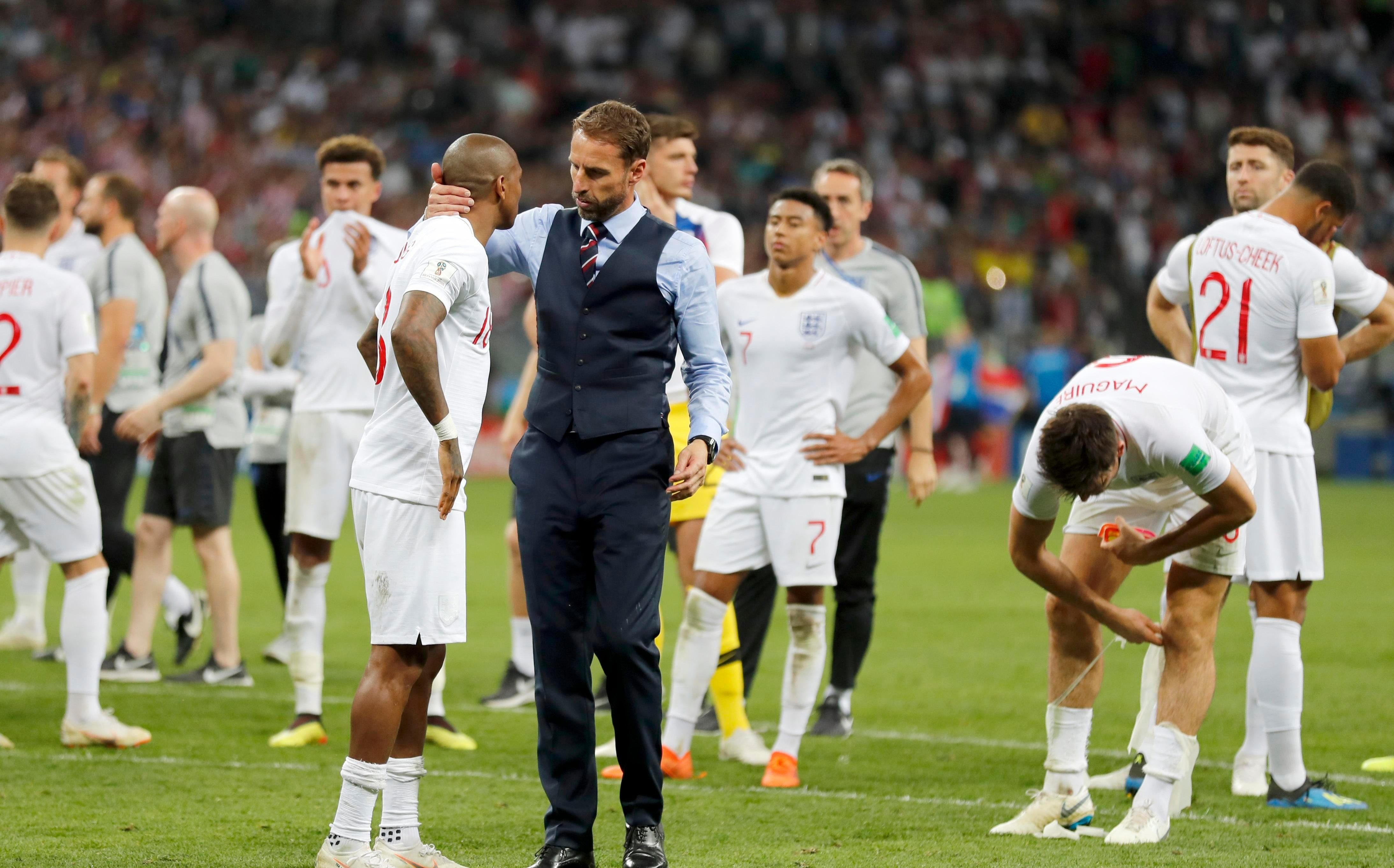 England lost to Croatia in their first semi-final since 1990