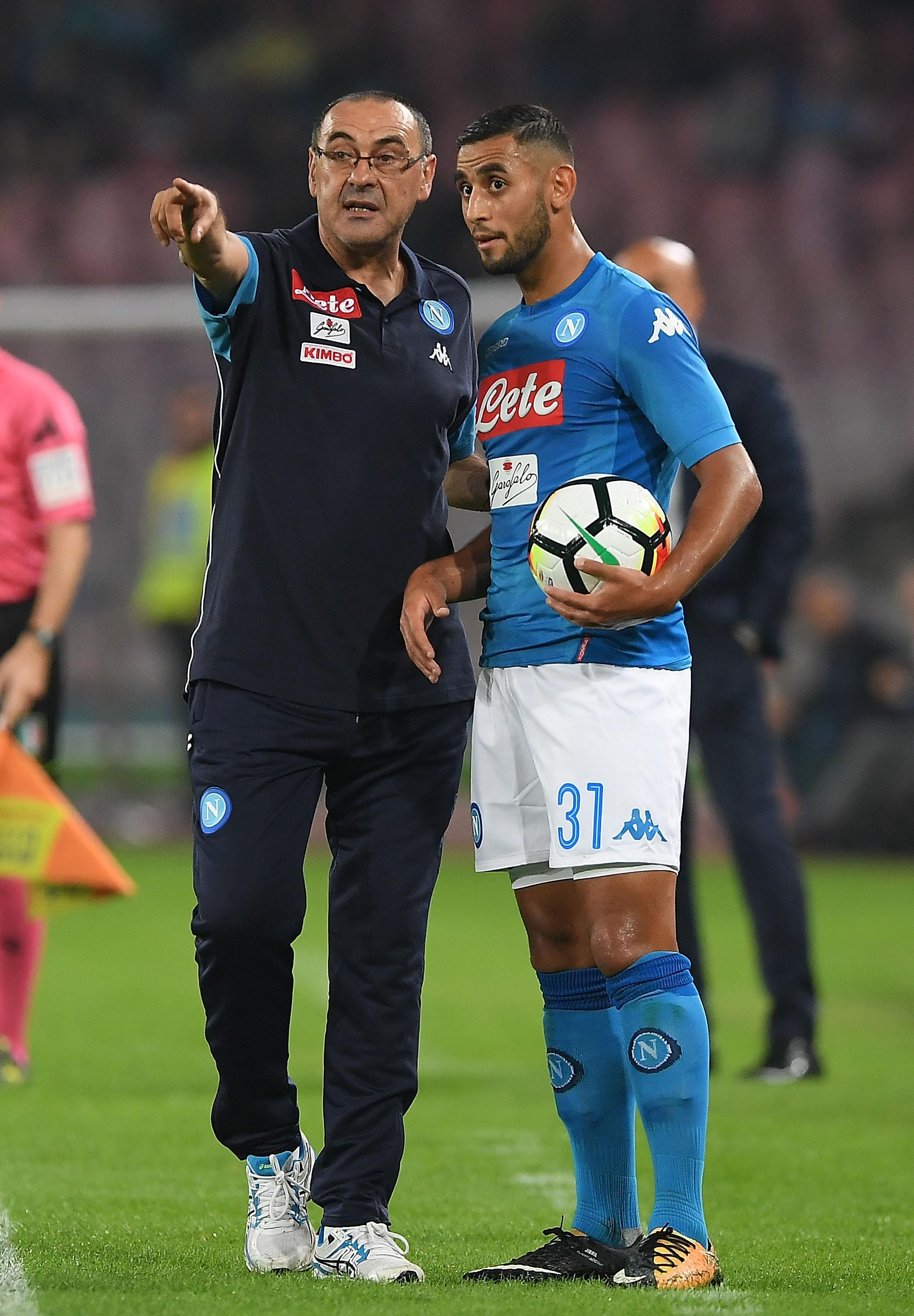 Sarri has a number of quirky superstitions he expects his players to follow