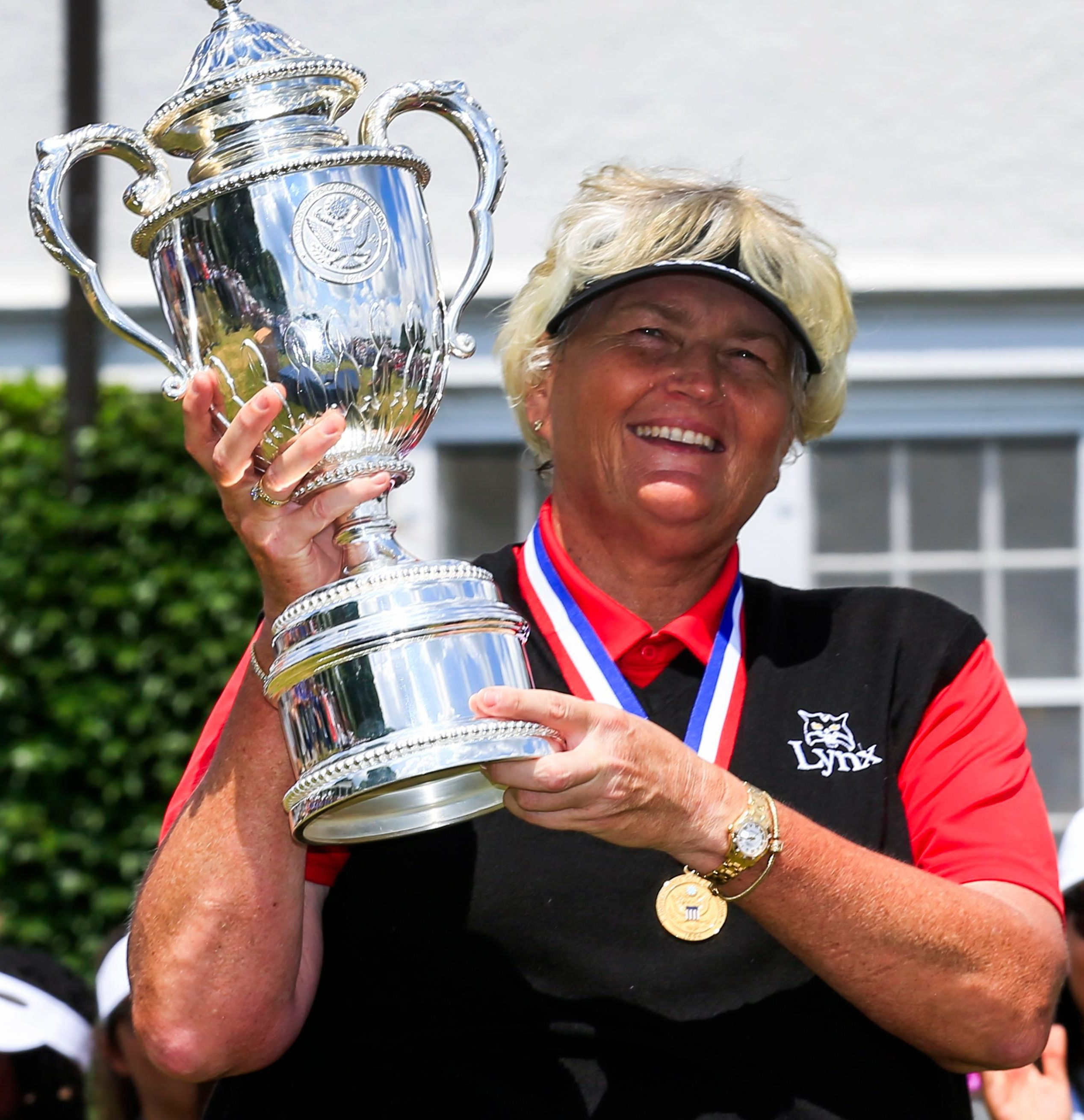 Laura Davies is fresh from winning the US Senior Women's Championship