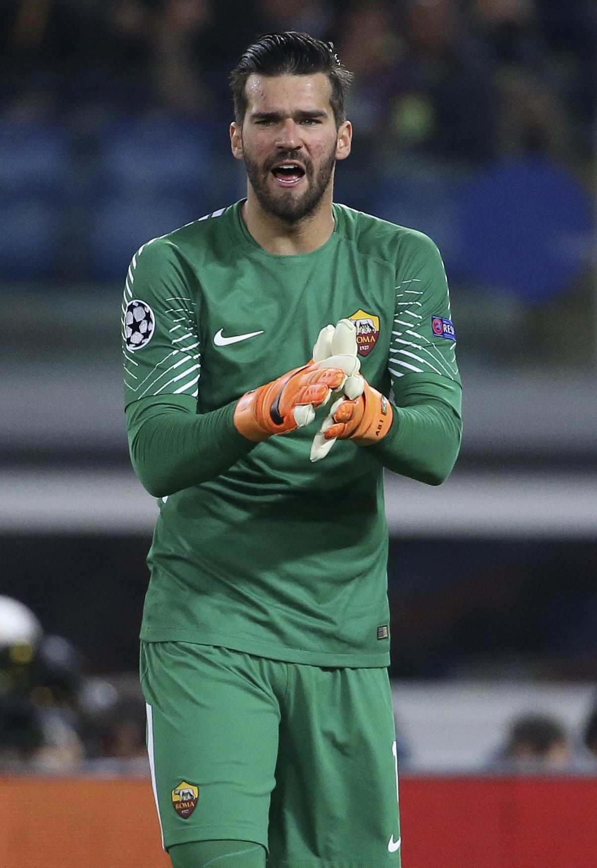 Roma and Brazil keeper Alisson Becker has been beaten to an Anfield move by her namesake - according to her as she trolled Liverpool