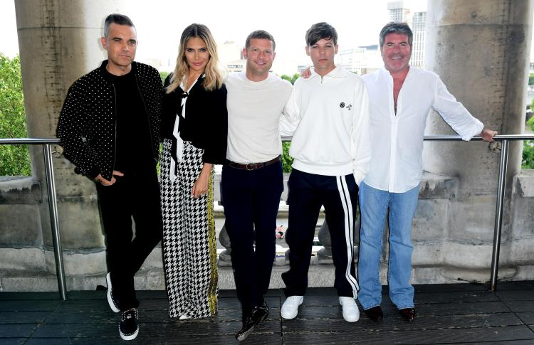 The X Factor 2018 judging panel