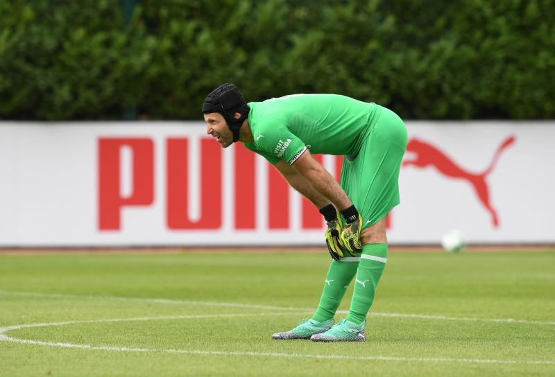Petr Cech's new physique has got Gunners fans talking on social media