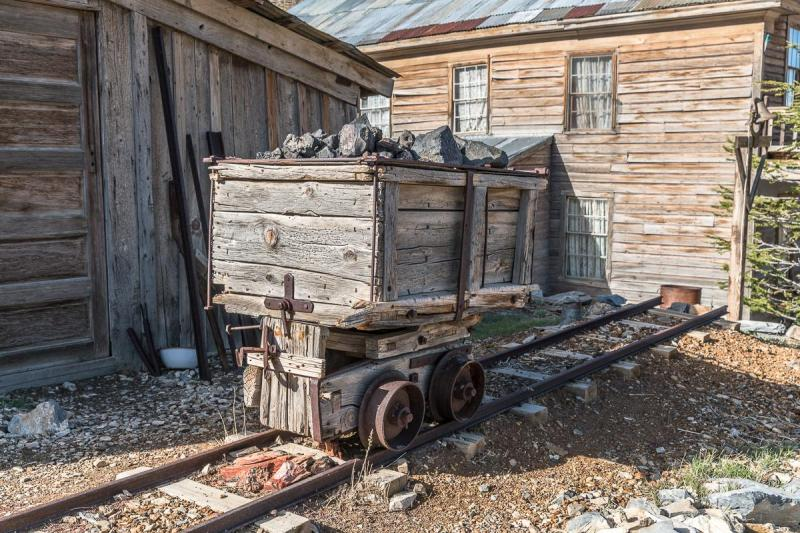Visitors will also notice many of the original carts miners once used to bring ore up to the surface, where it was smelted down