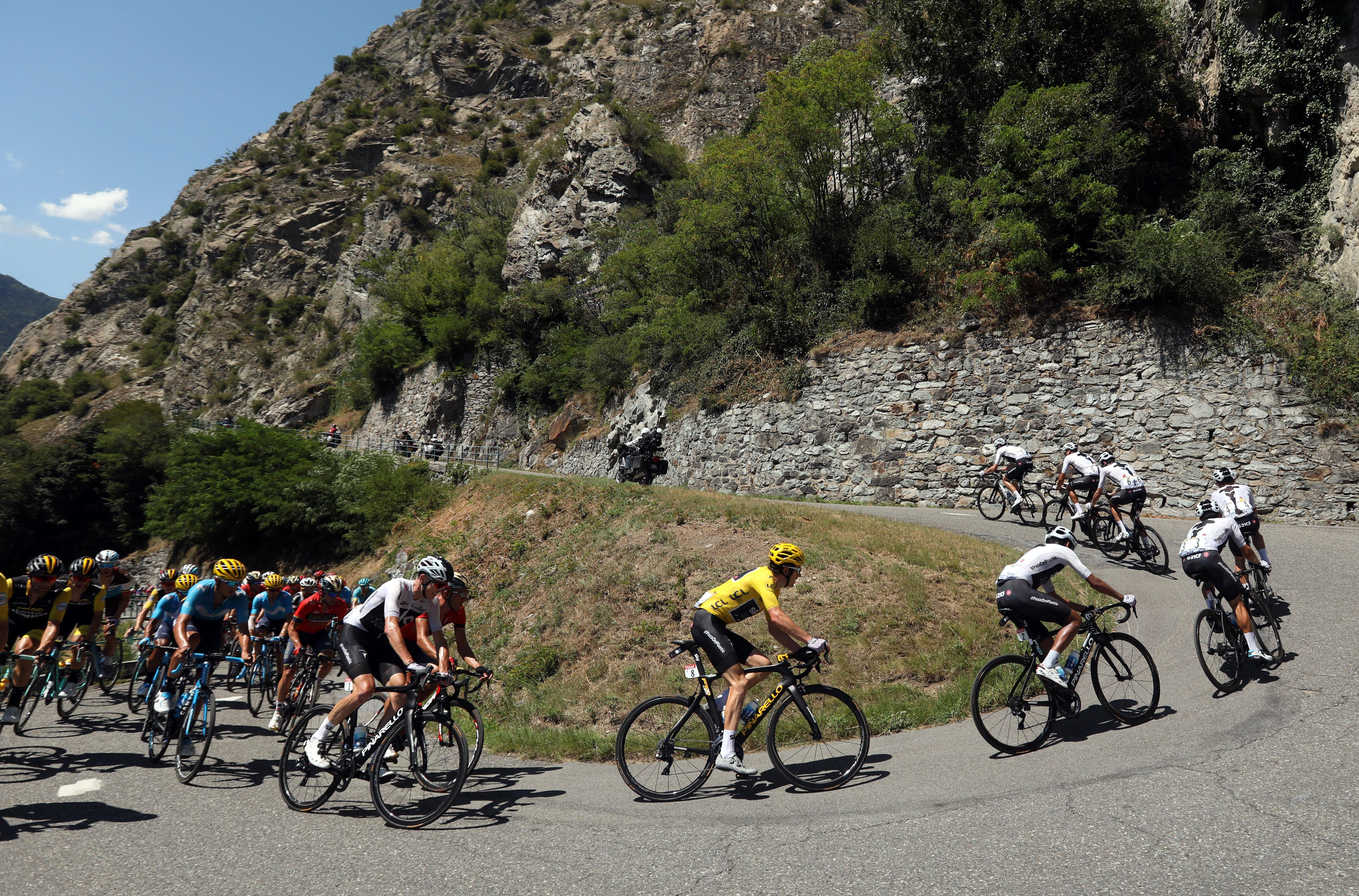 Thomas increased his gap over Froome on general classification to 1min 39sec