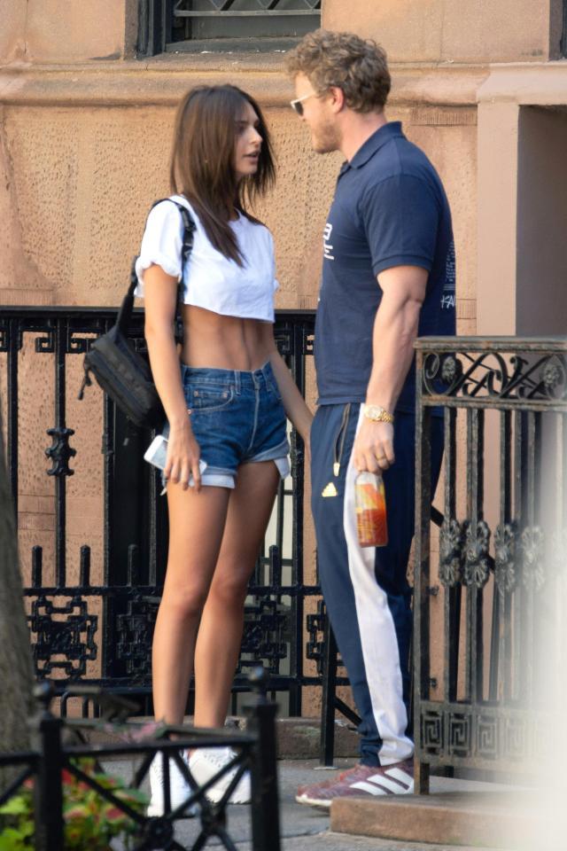 Emily Ratajkowski and Sebastian Bear-McClard