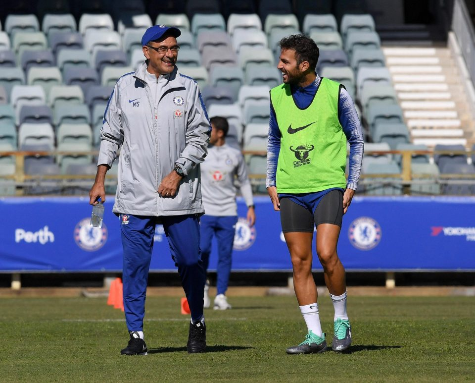 0ee22f7d52 Maurizio Sarri and Gianfranco Zola are preparing for their first game  together at Chelsea on the