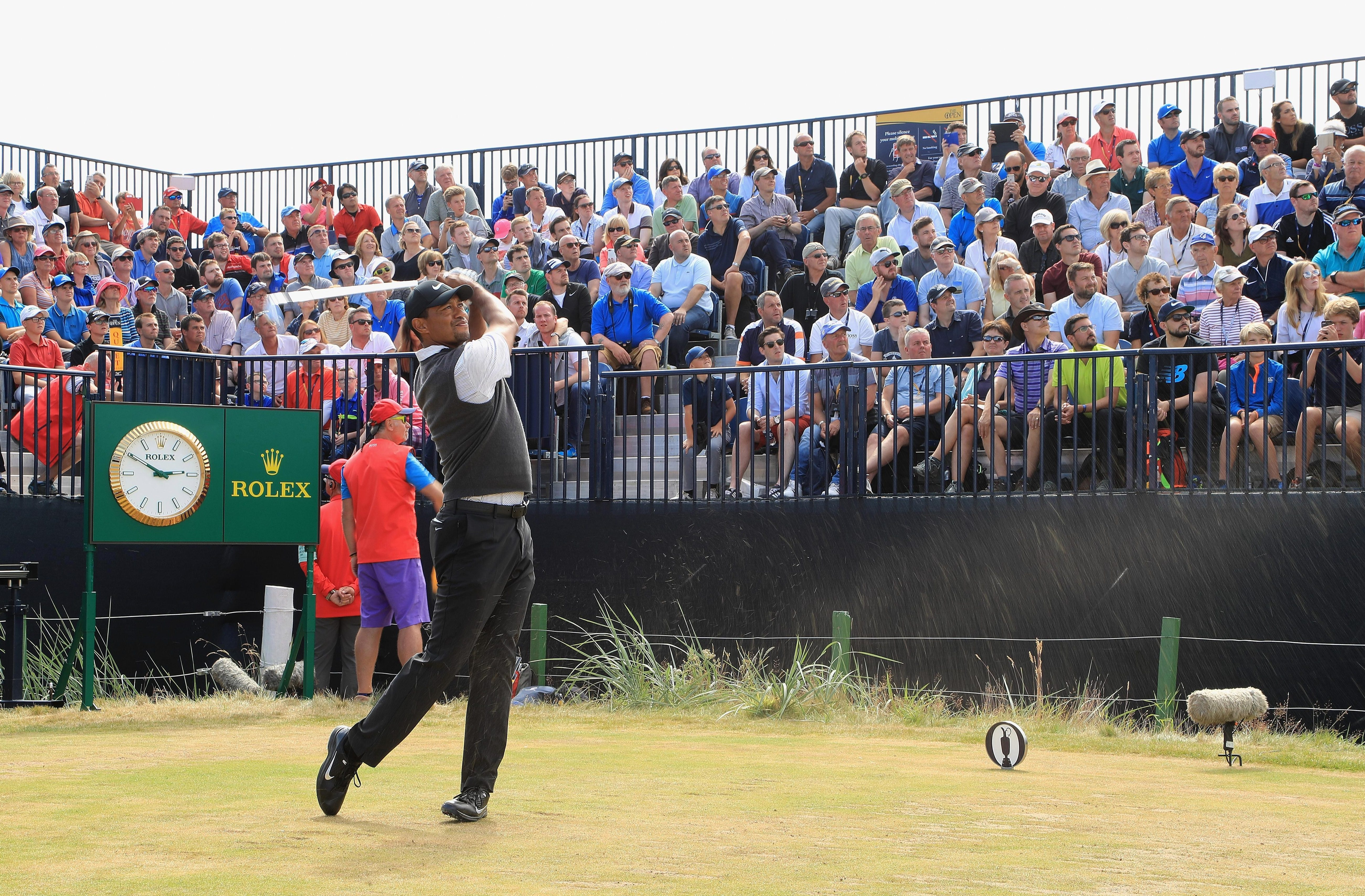 Fans flocked to see the superstar find his best form