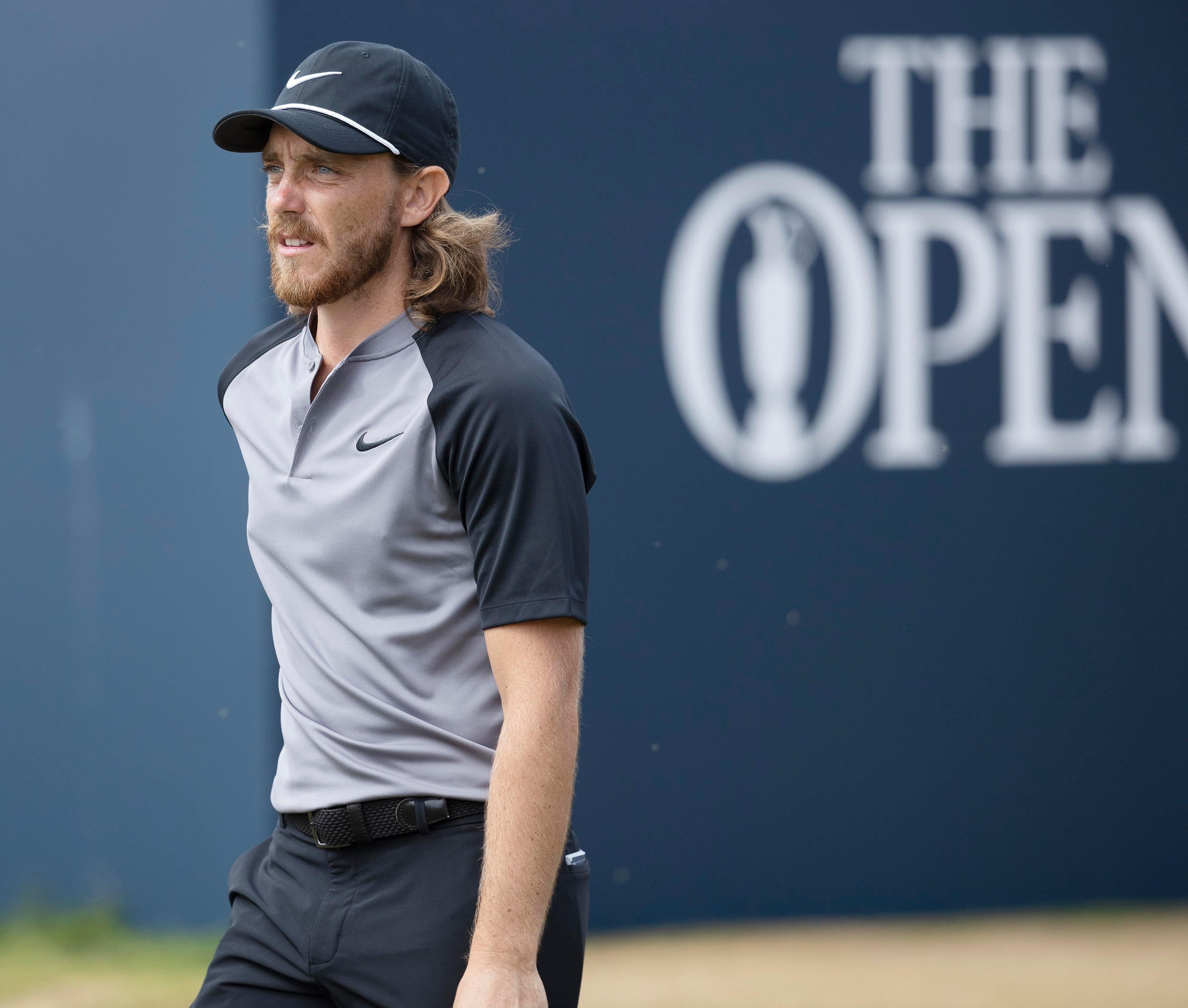 Tommy Fleetwood was left on the fringe, four shots off the lead following a 71