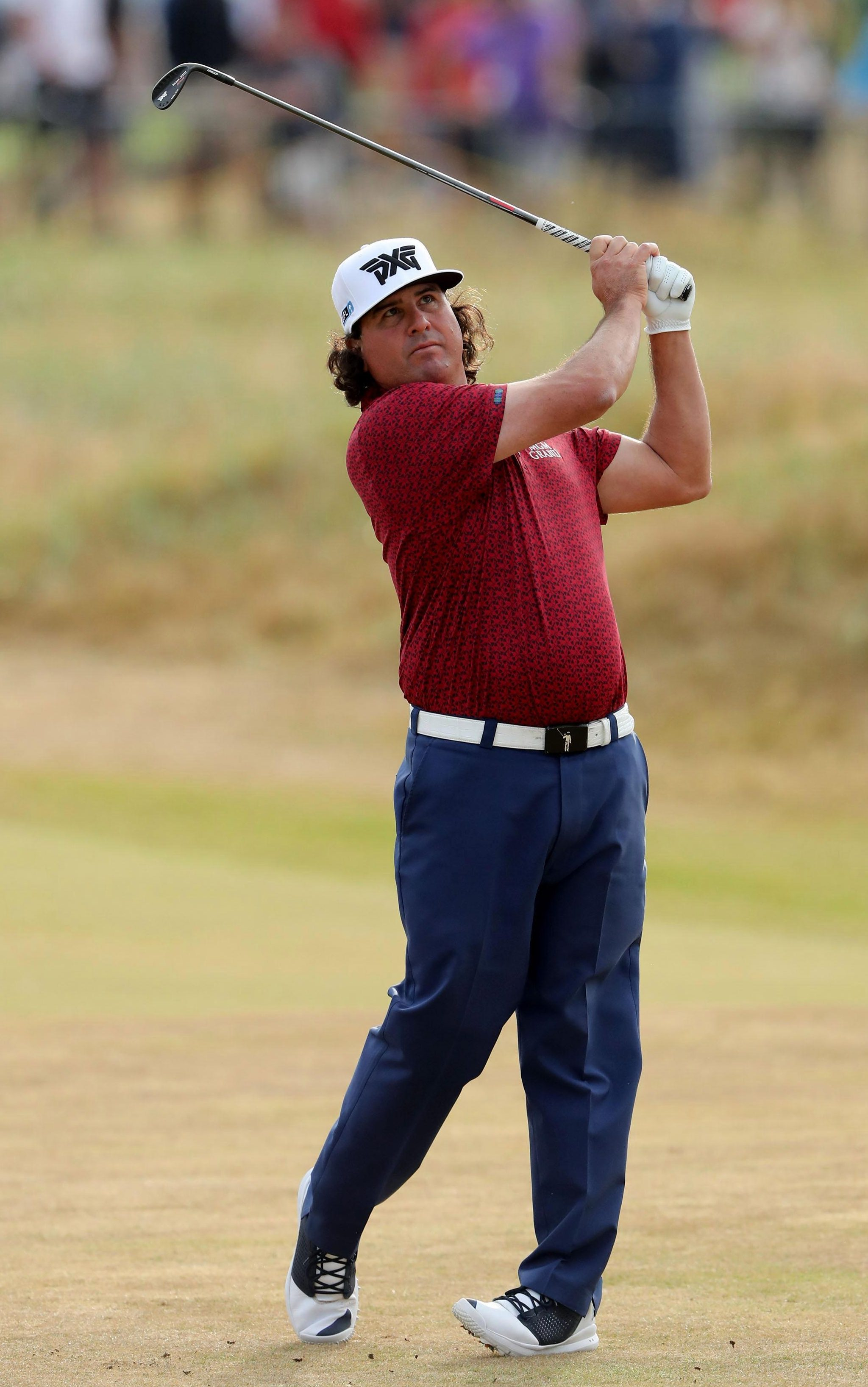 Yank Pat Perez now seems out of the running for the Claret Jug at Carnoustie