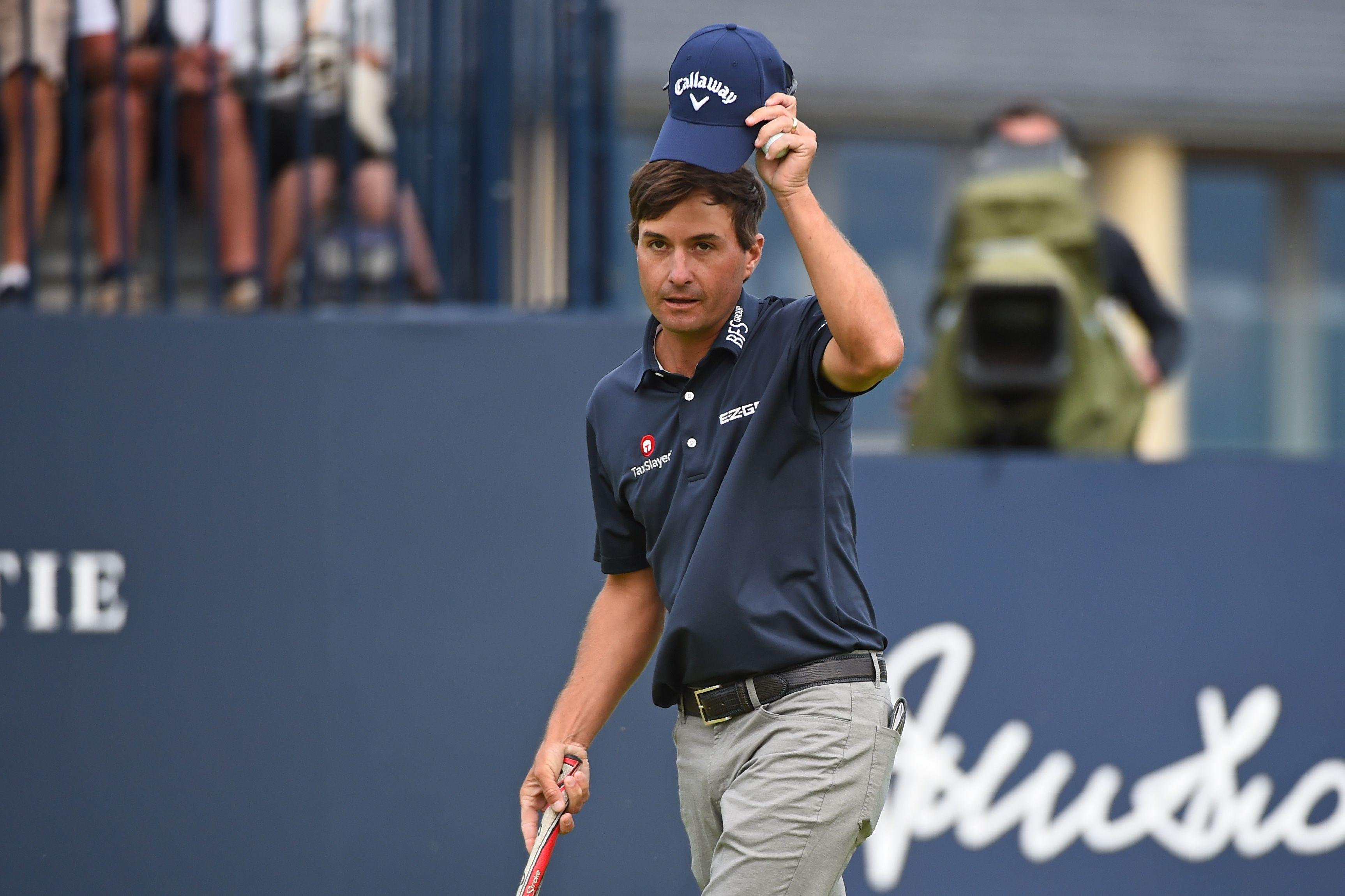 Kevin Kisner is one of the leaders going into the final round