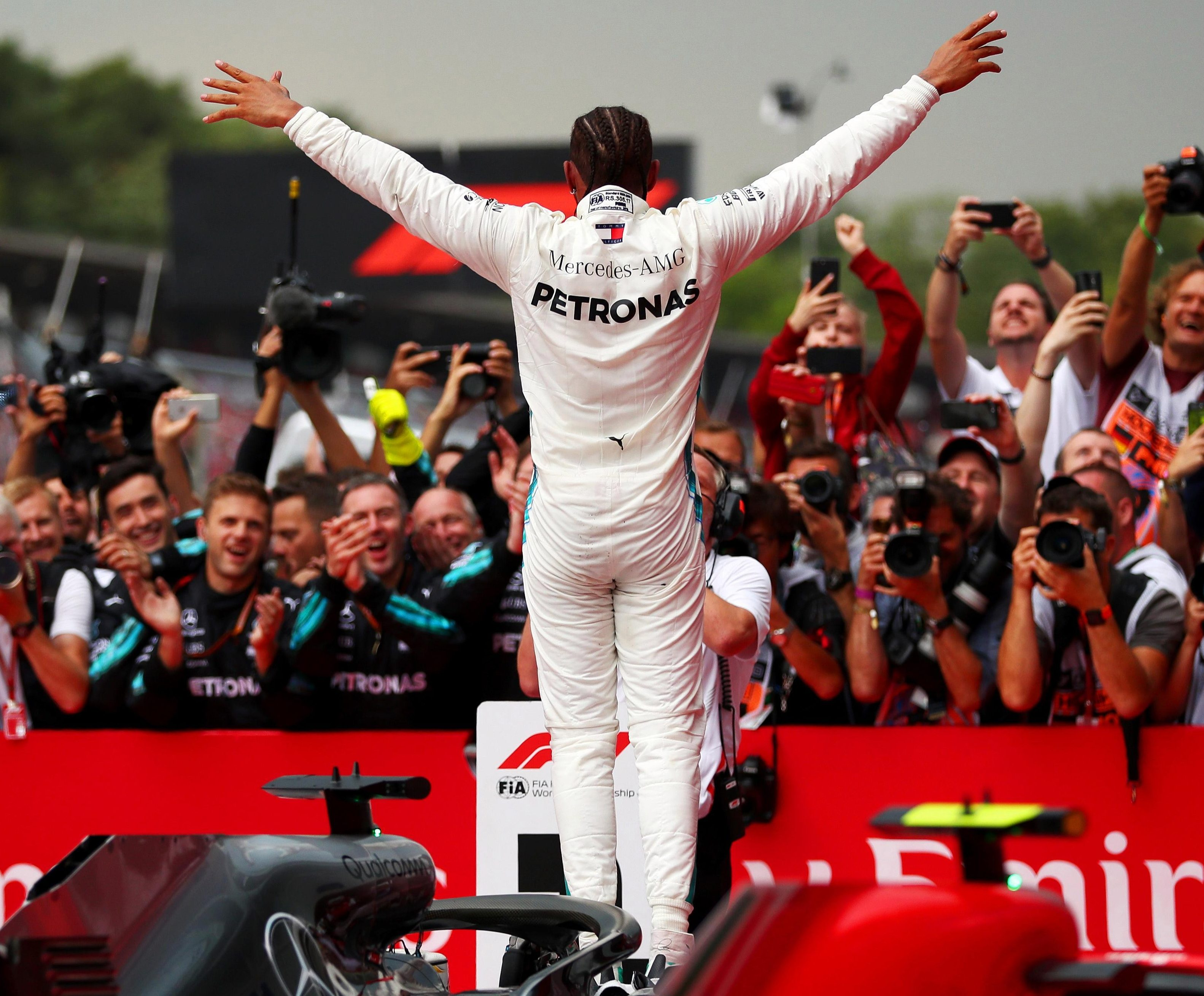 Lewis Hamilton is forever the centre of attention in the F1 world