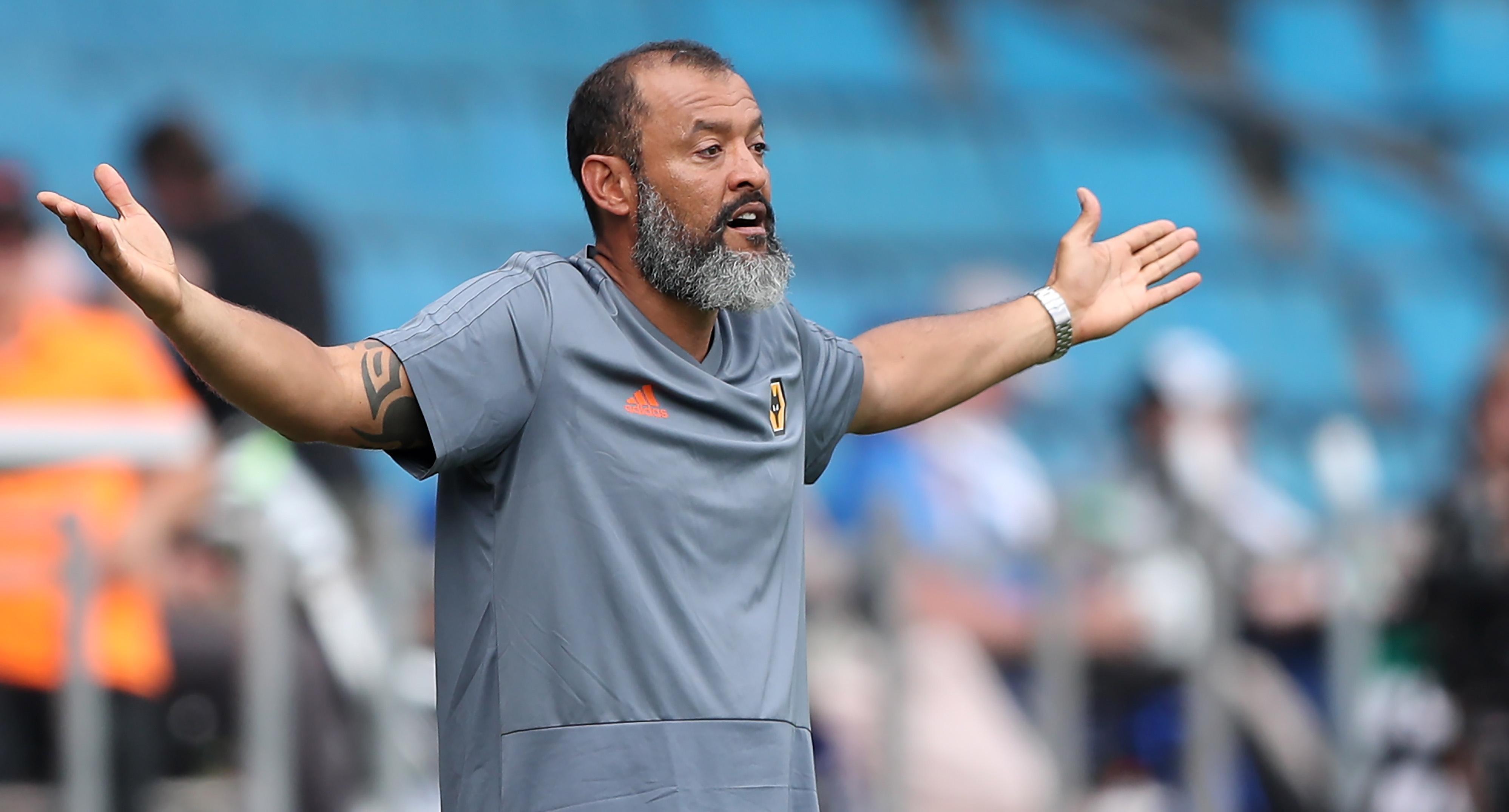 NunoEspirito Santo's side are preparing for a return to the Premier League