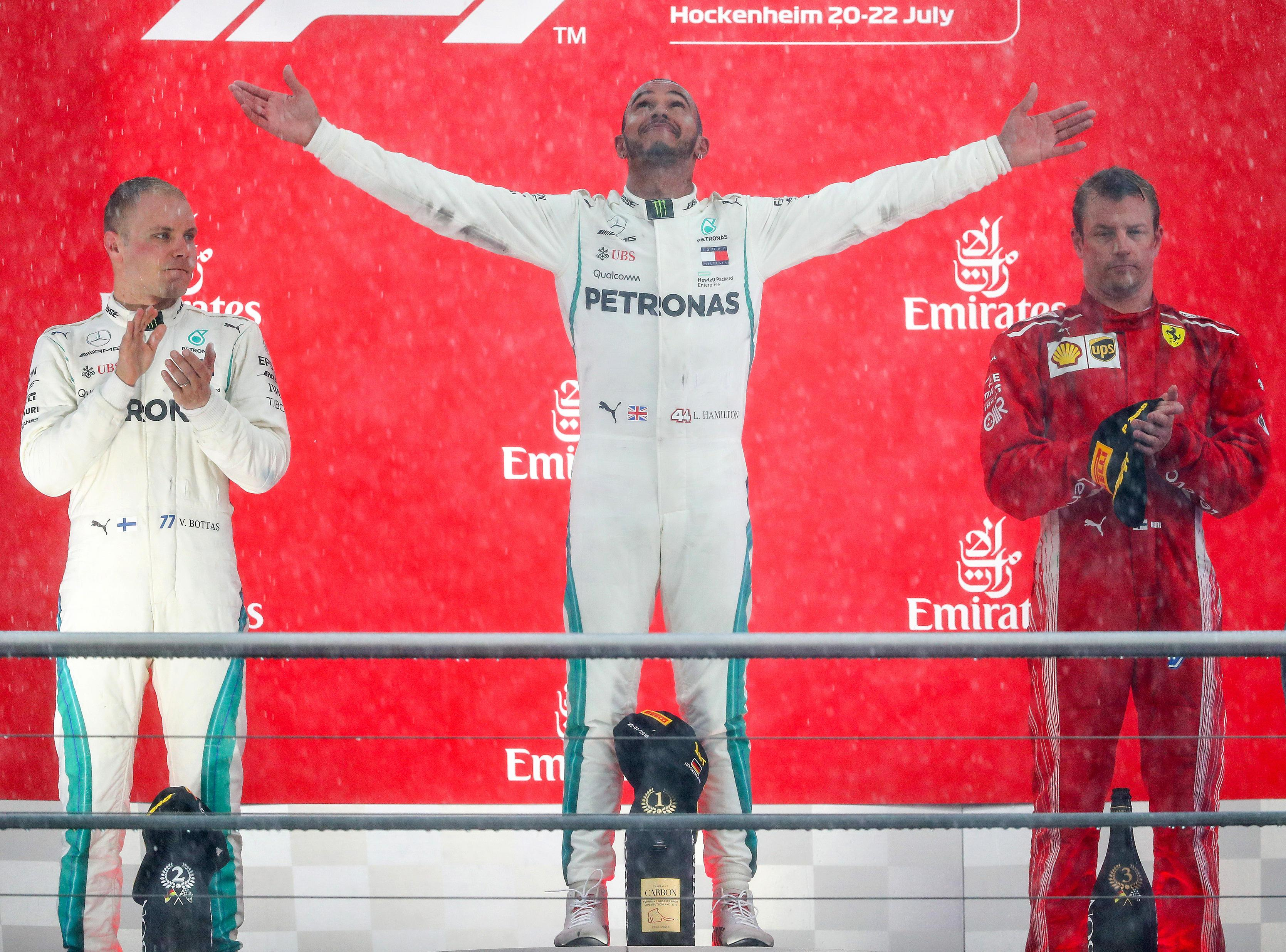Lewis Hamilton's antics during German GP have been slammed by Jacques Villeneuve