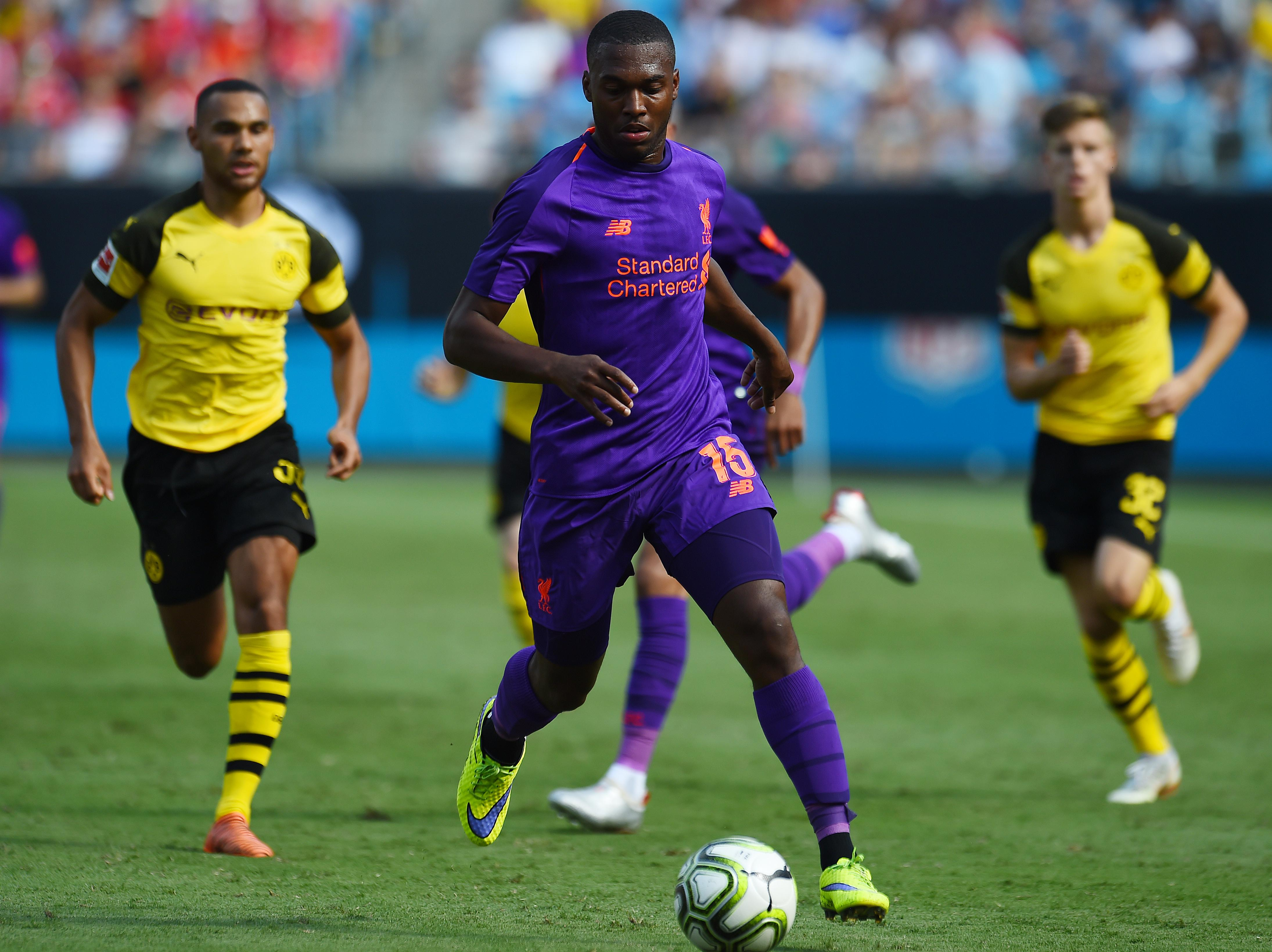Sturridge was also a substitute in the defeat to Borussia Dortmund