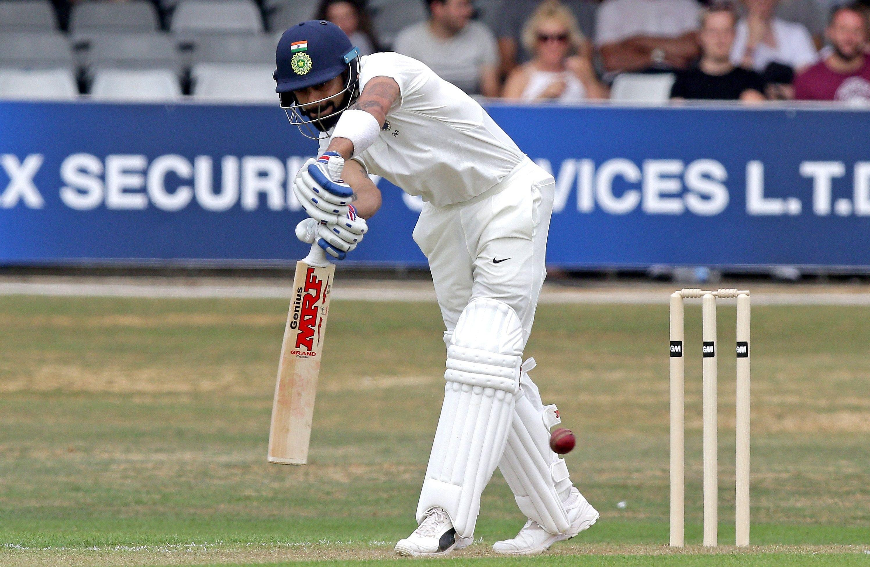 Virat Kohli leads the No 1 Test team in the world in India