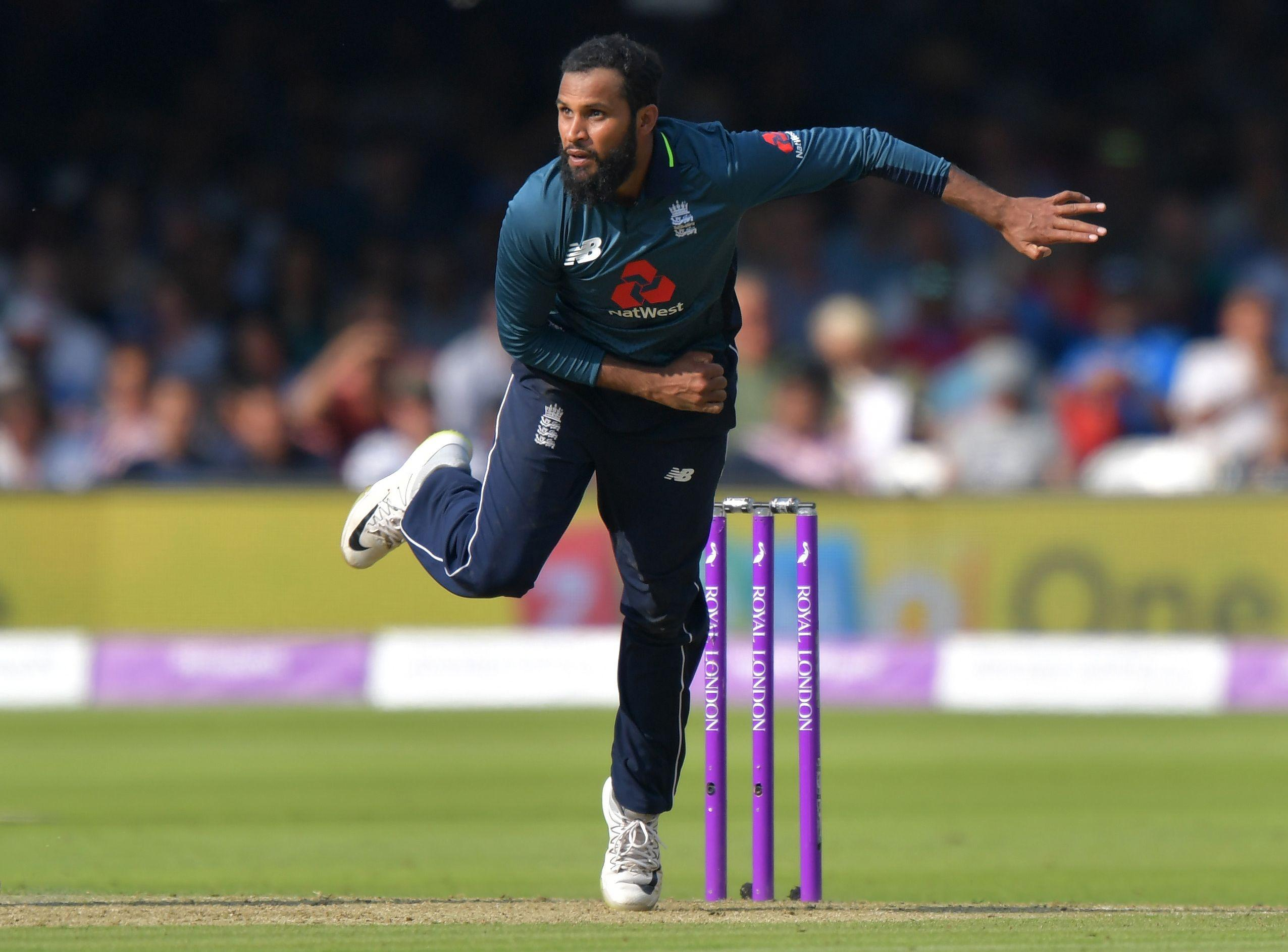 Adil Rashid has been involved in a war of words with former England skipper Michael Vaughan