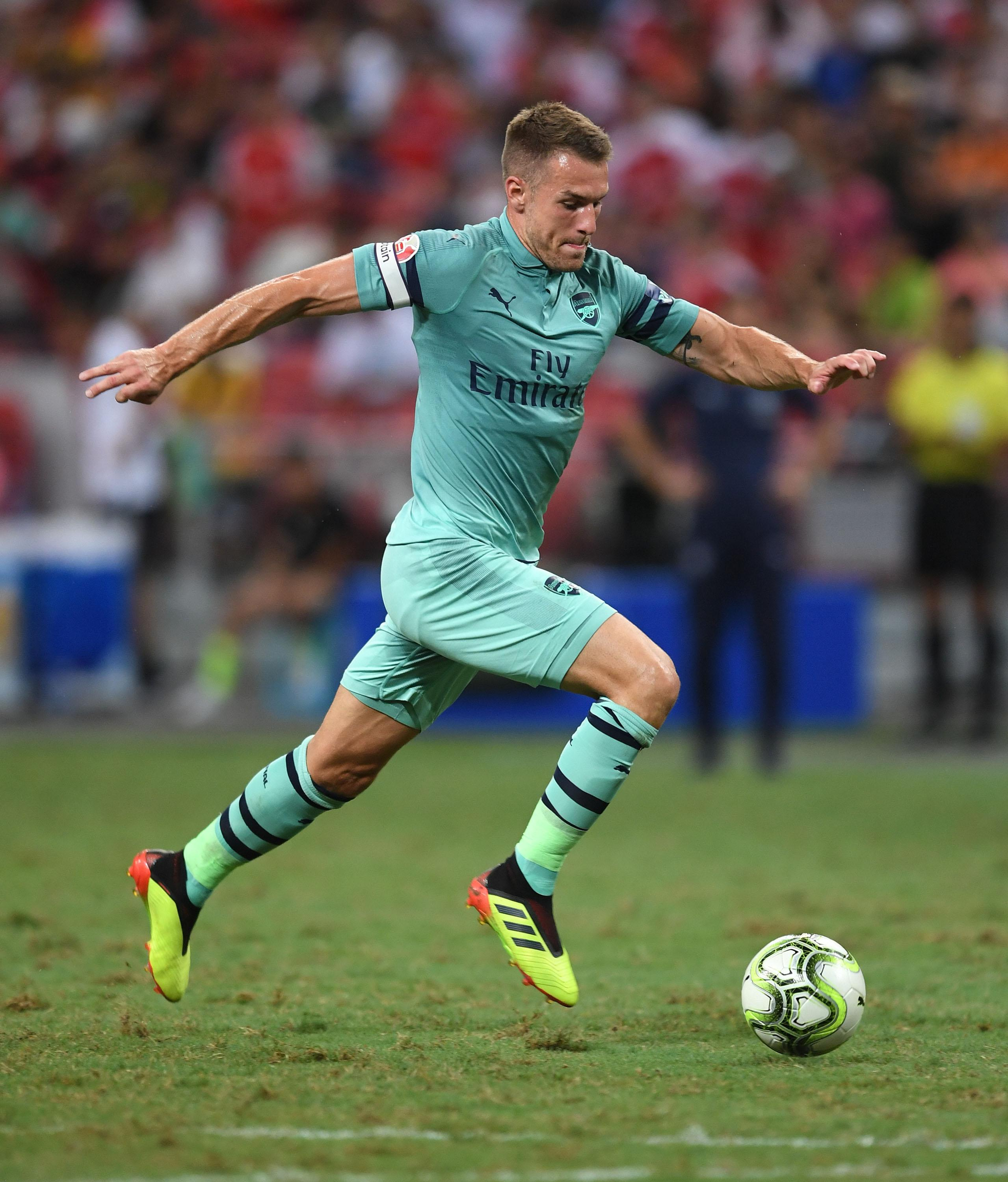 Ramsey has been linked with a move to Chelsea, but could head to Spain if Arsenal get Ousmane Dembele