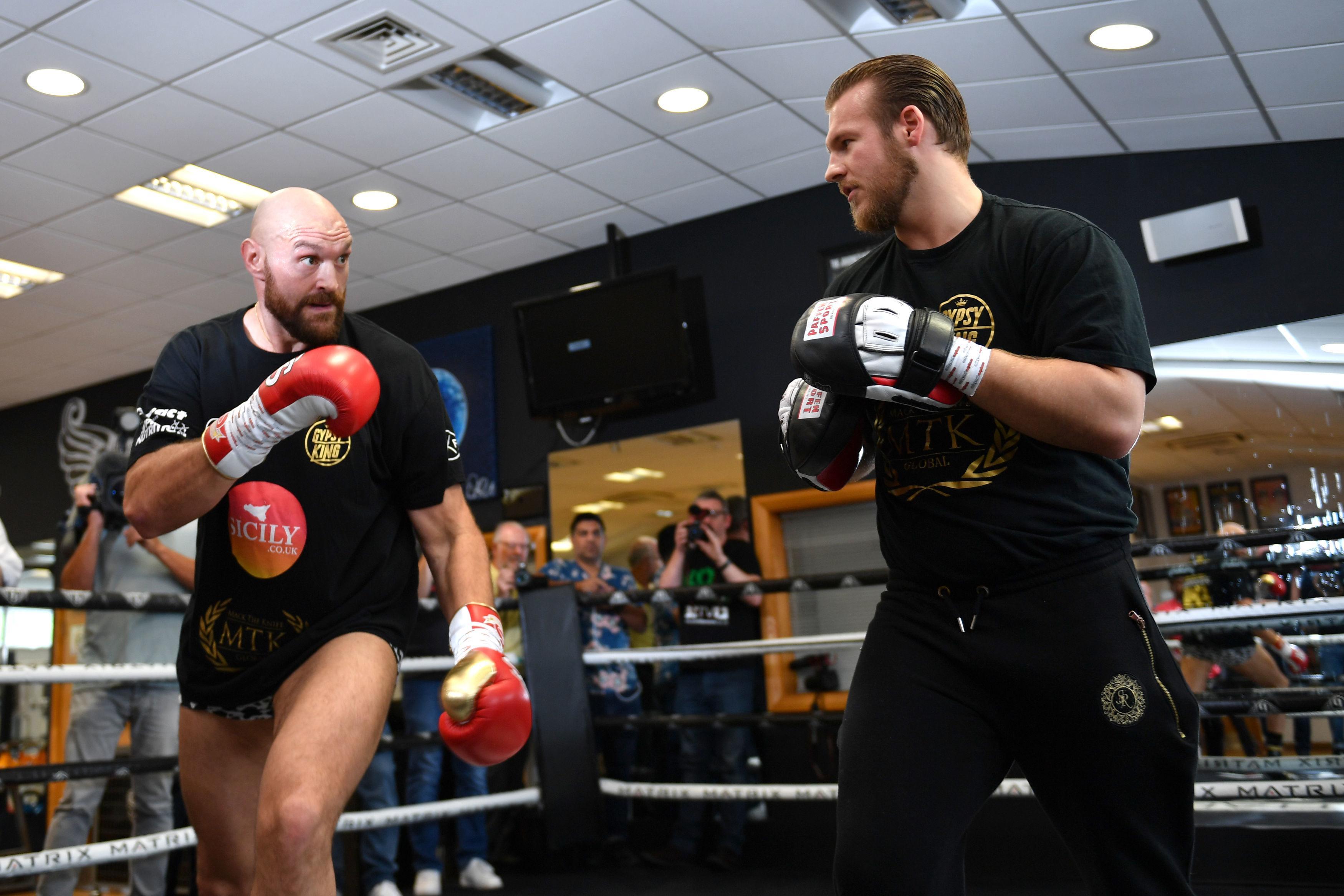 Tyson Fury takes on Francesco Pianeta on August 18 with the support of Ben Davison