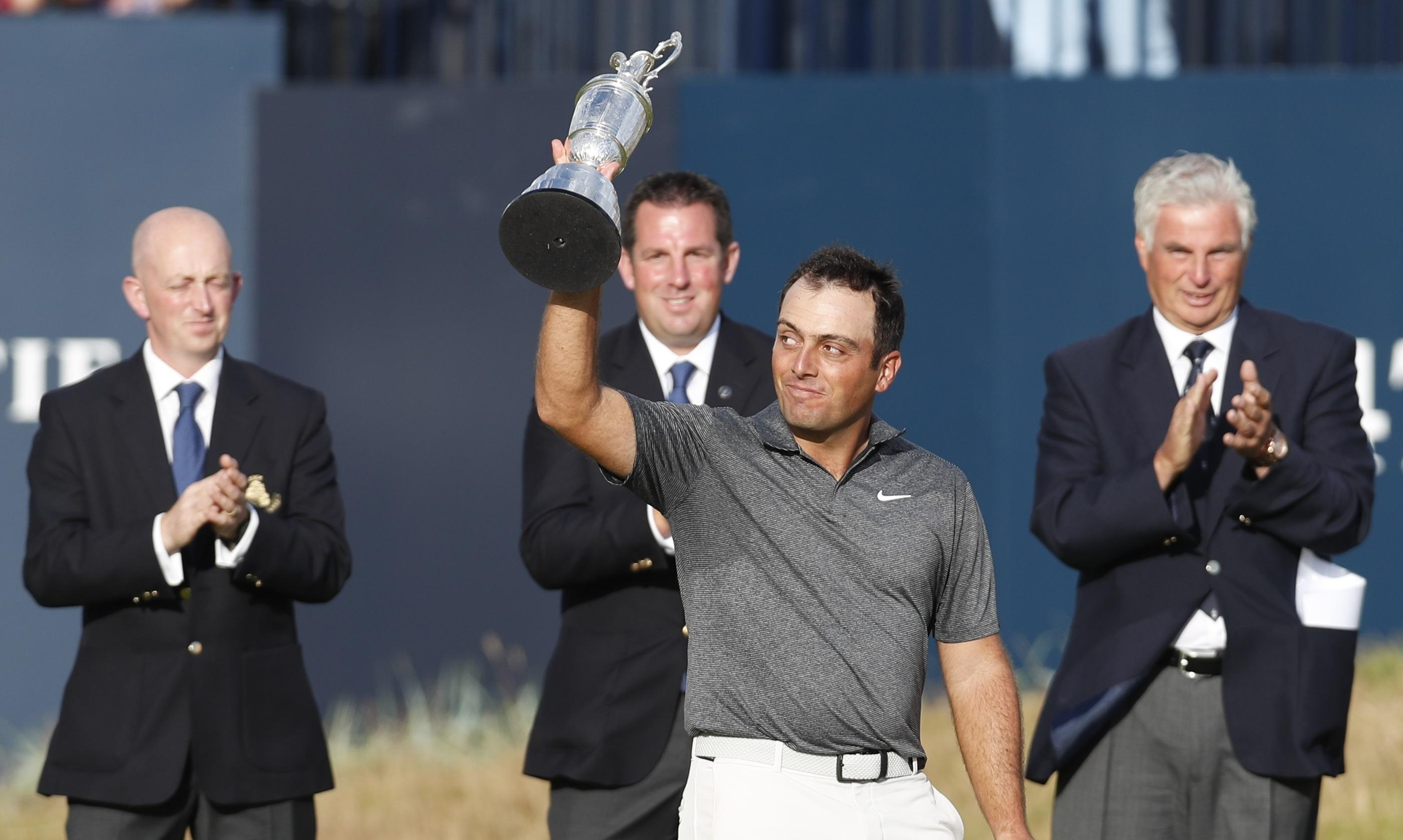 Fran Molinari saw off the game's heavyweights at windswept Carnoustie