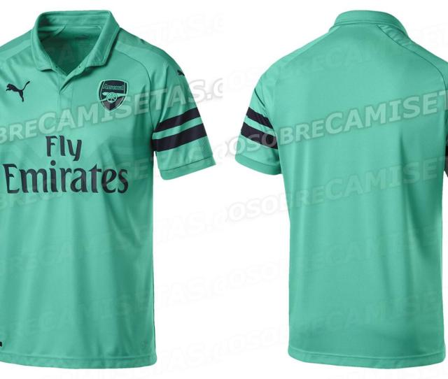 Arsenal Launch New Turquoise Third Kit For 2018 19 Season And It Has Not Gone Down Well With Fans