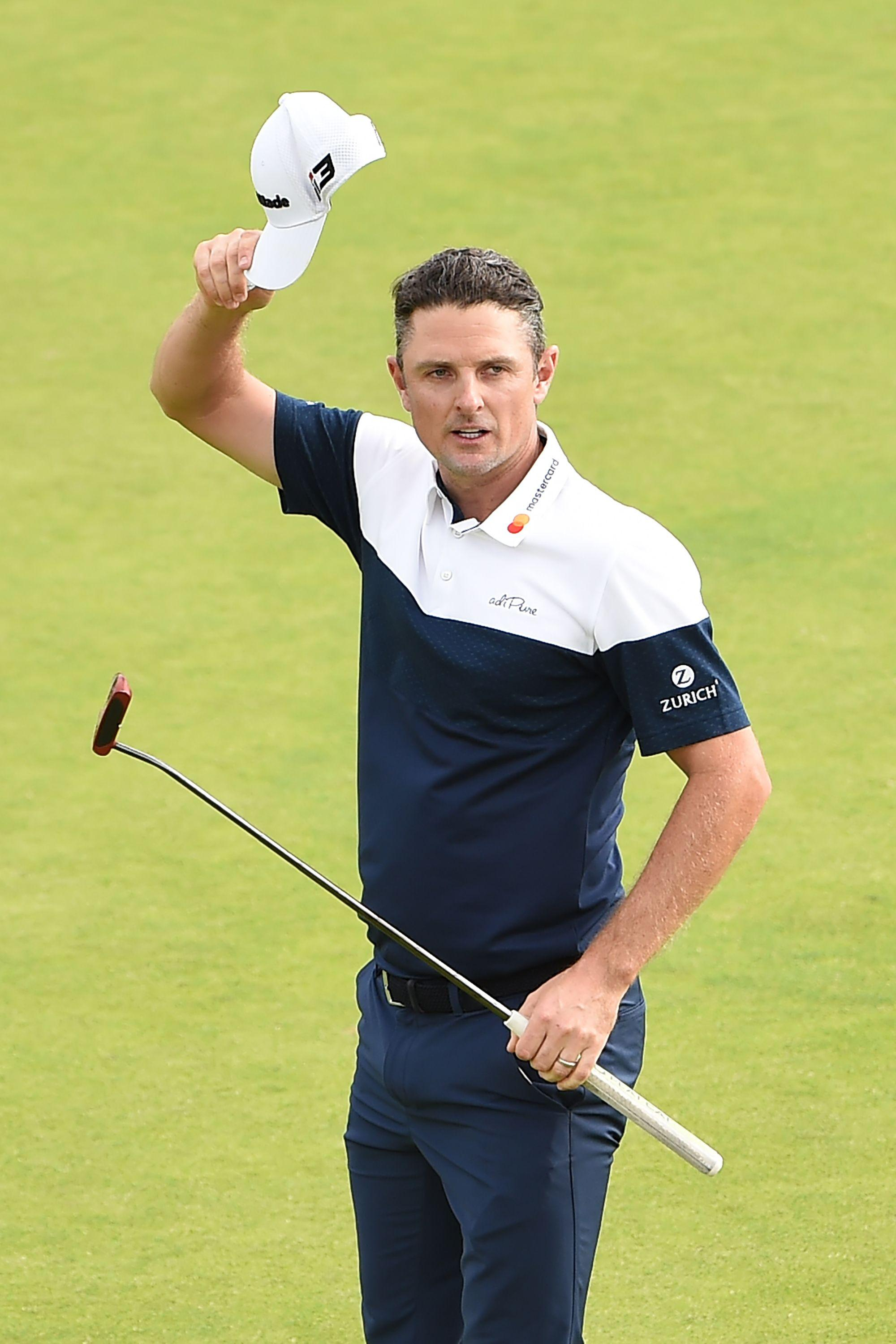 The 2013 US Open champion made the cut on the number before giving himself a chance for glory