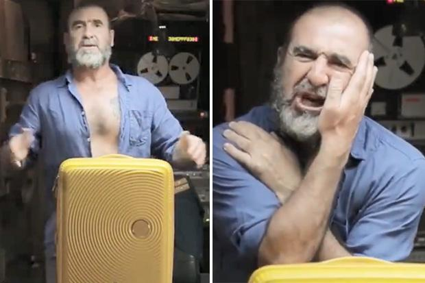You barely touch it, and it turns round and round for hours. World Cup 2018 Neymar Mocked By Eric Cantona In Hilarious Advert As French Legend Compares Brazil Star To Dodgy Hand Luggage