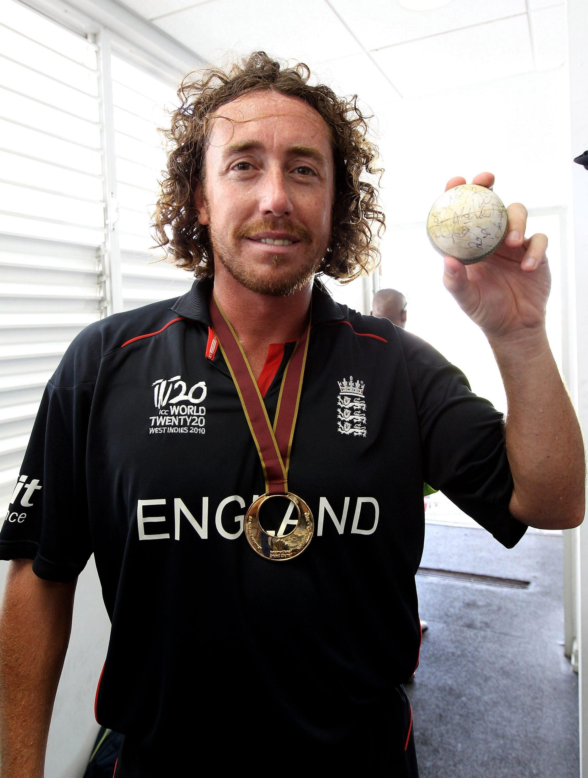 Bowler Sidebottom won a T20 World Cup title with England