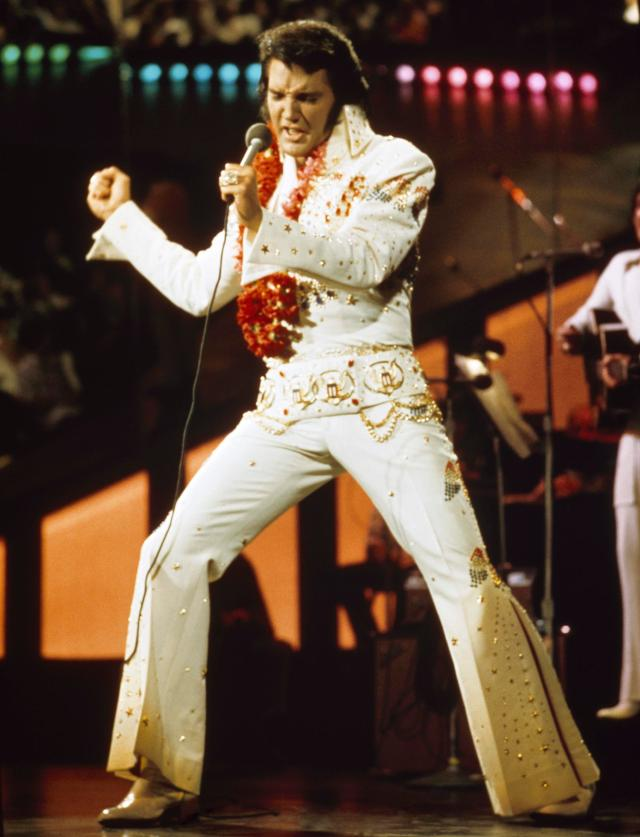 Elvis was found dead in the bathroom at his home in Graceland