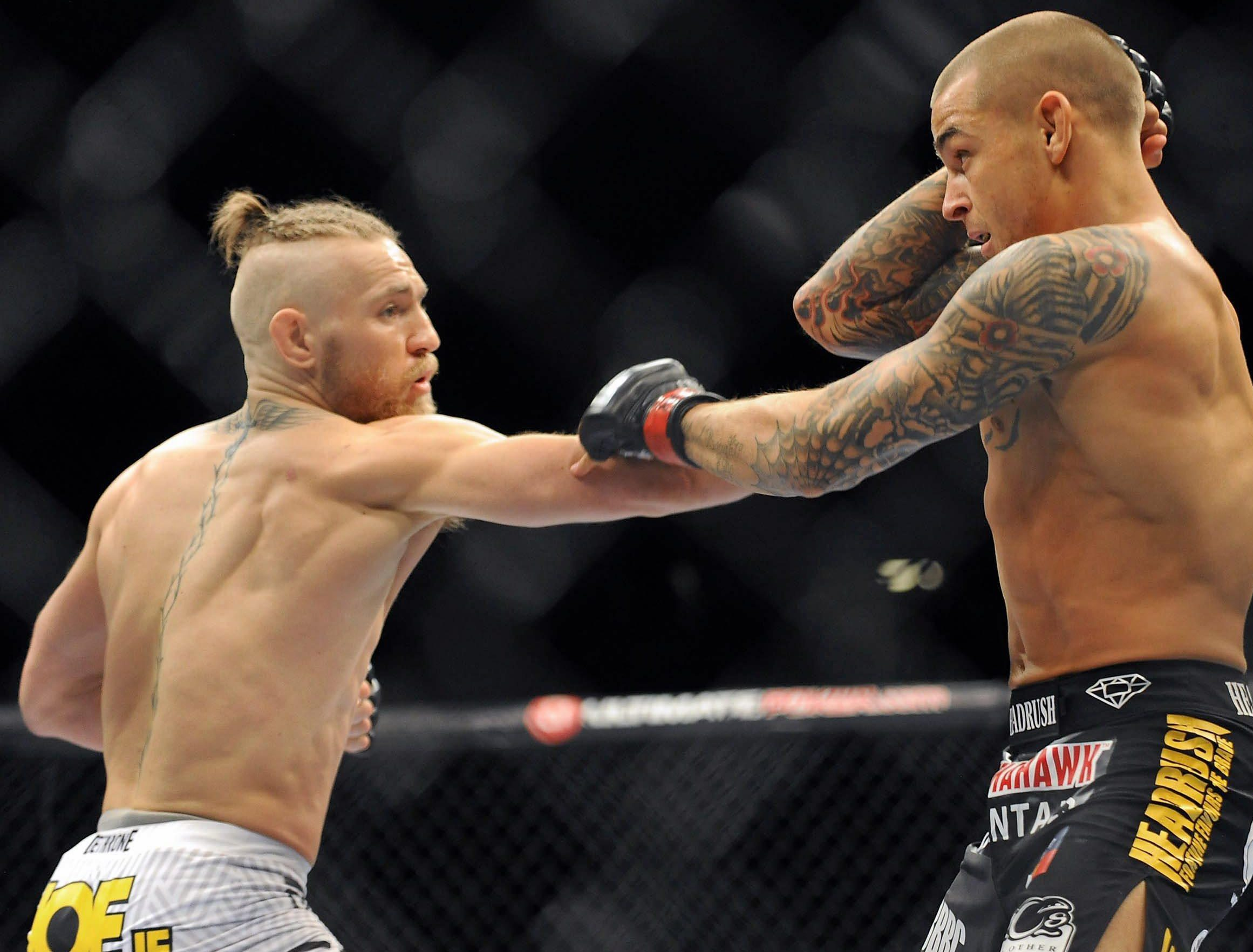Poirier came up short against McGregor in 2014 after being stopped in the first round