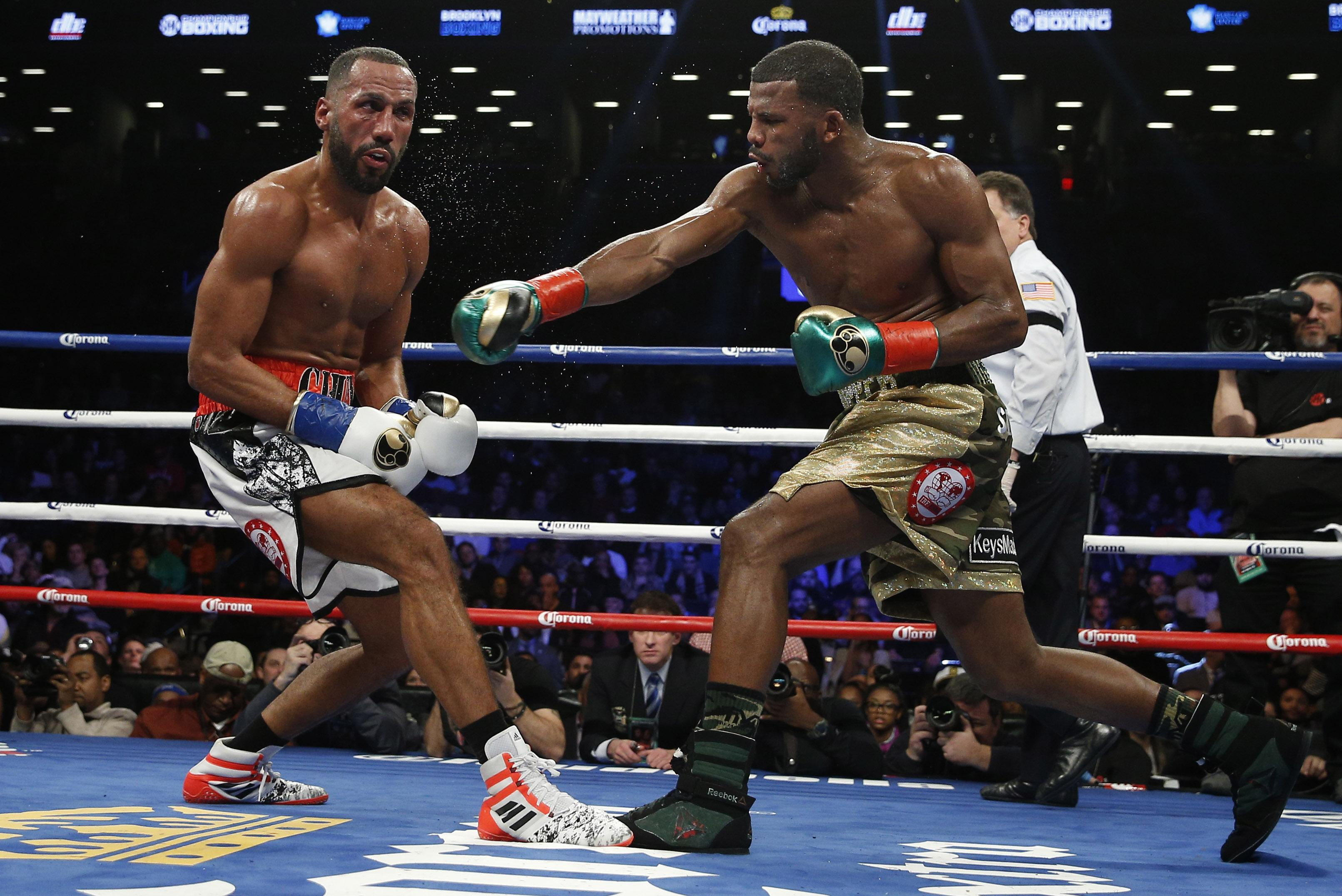Brit James DeGale had his teeth knocked out by Badou Jack in a controversial draw
