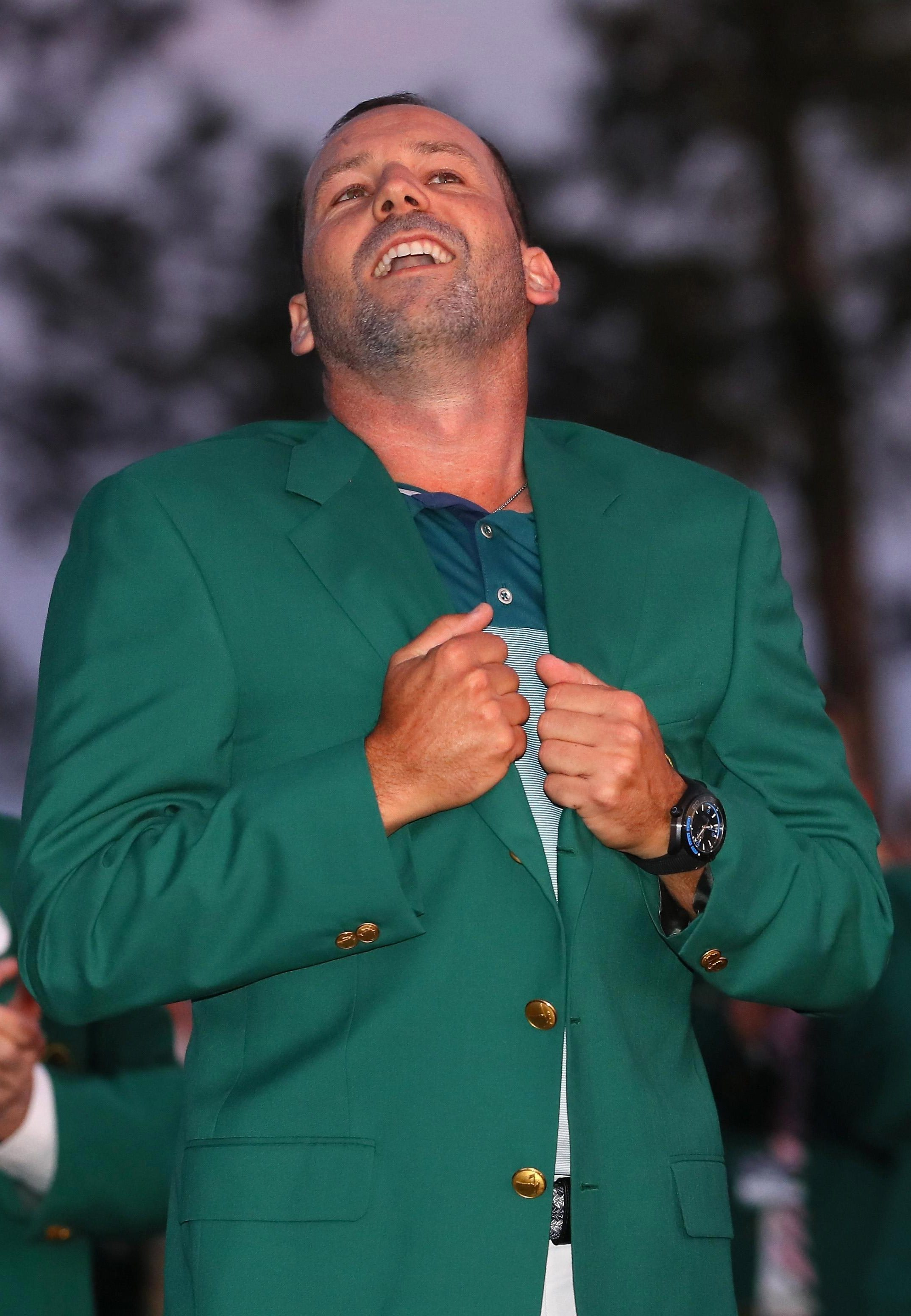 Sergio Garcia was on top of the world after finally ending his Major wait and winning the 2017 Masters