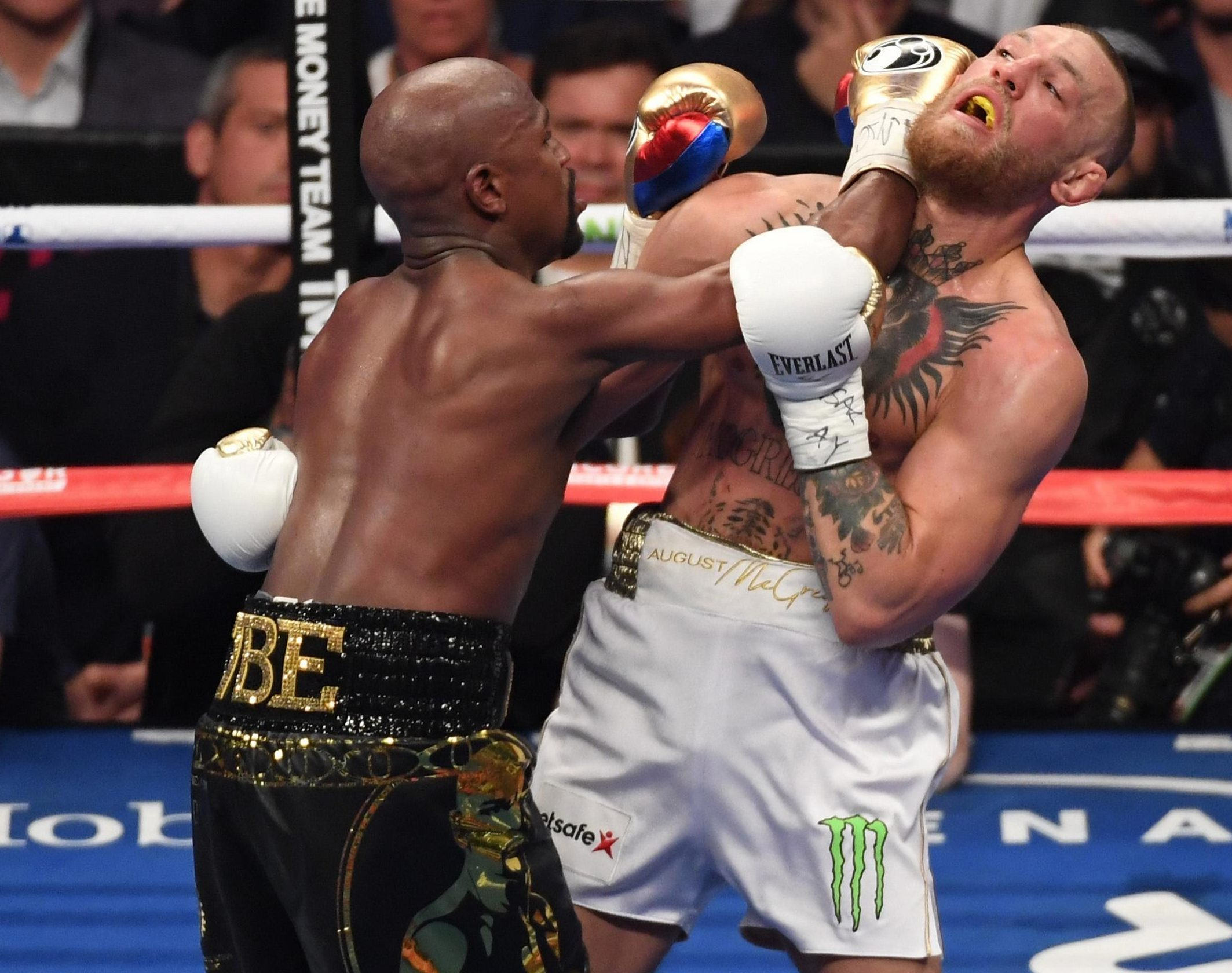 Floyd Mayweather beat Conor McGregor in their blockbuster boxing match last August