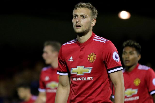 Manchester United striker James Wilson signs for Aberdeen on season-long loan