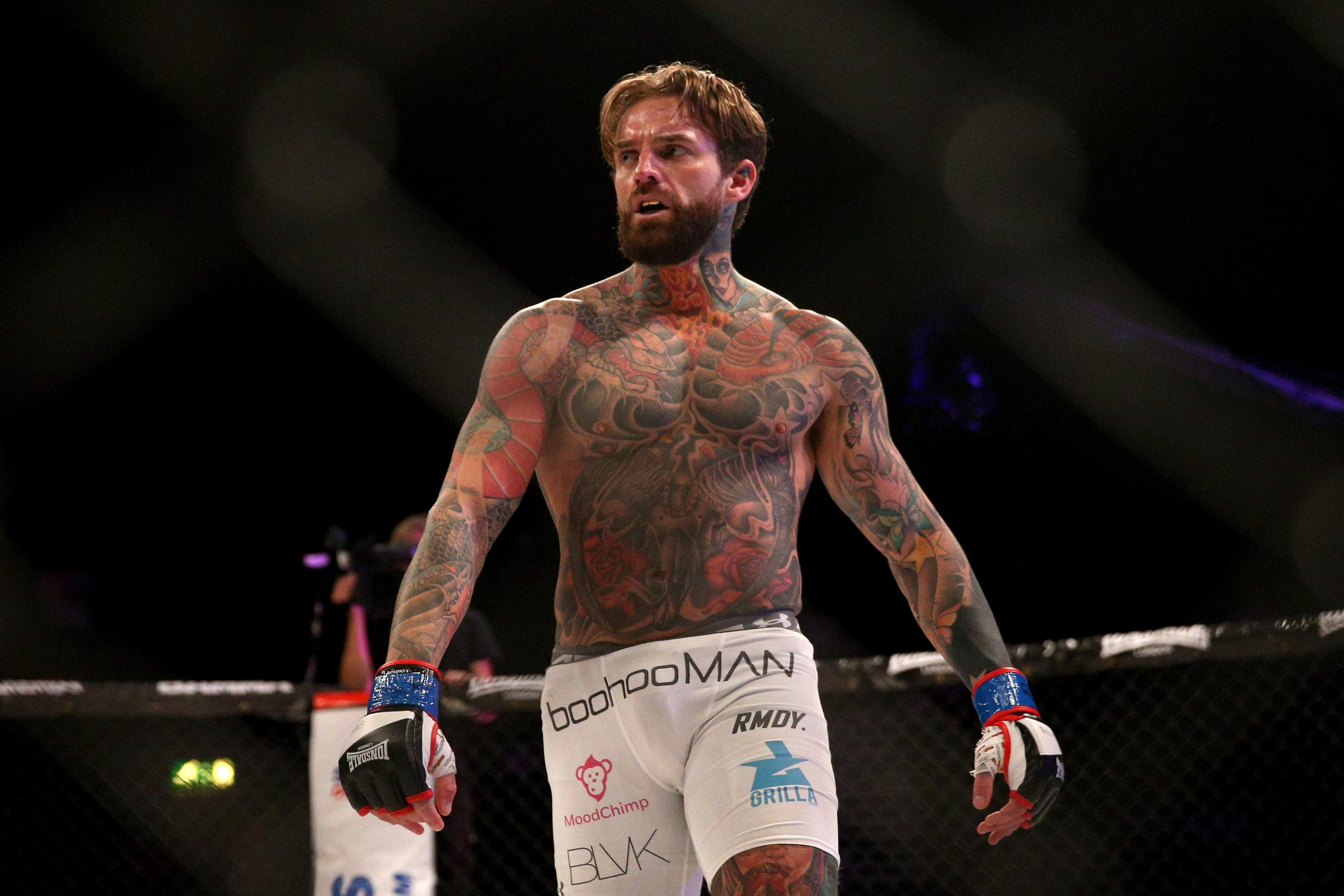 Aaron Chalmers has revealed his frustration over how his MMA career is being stalled