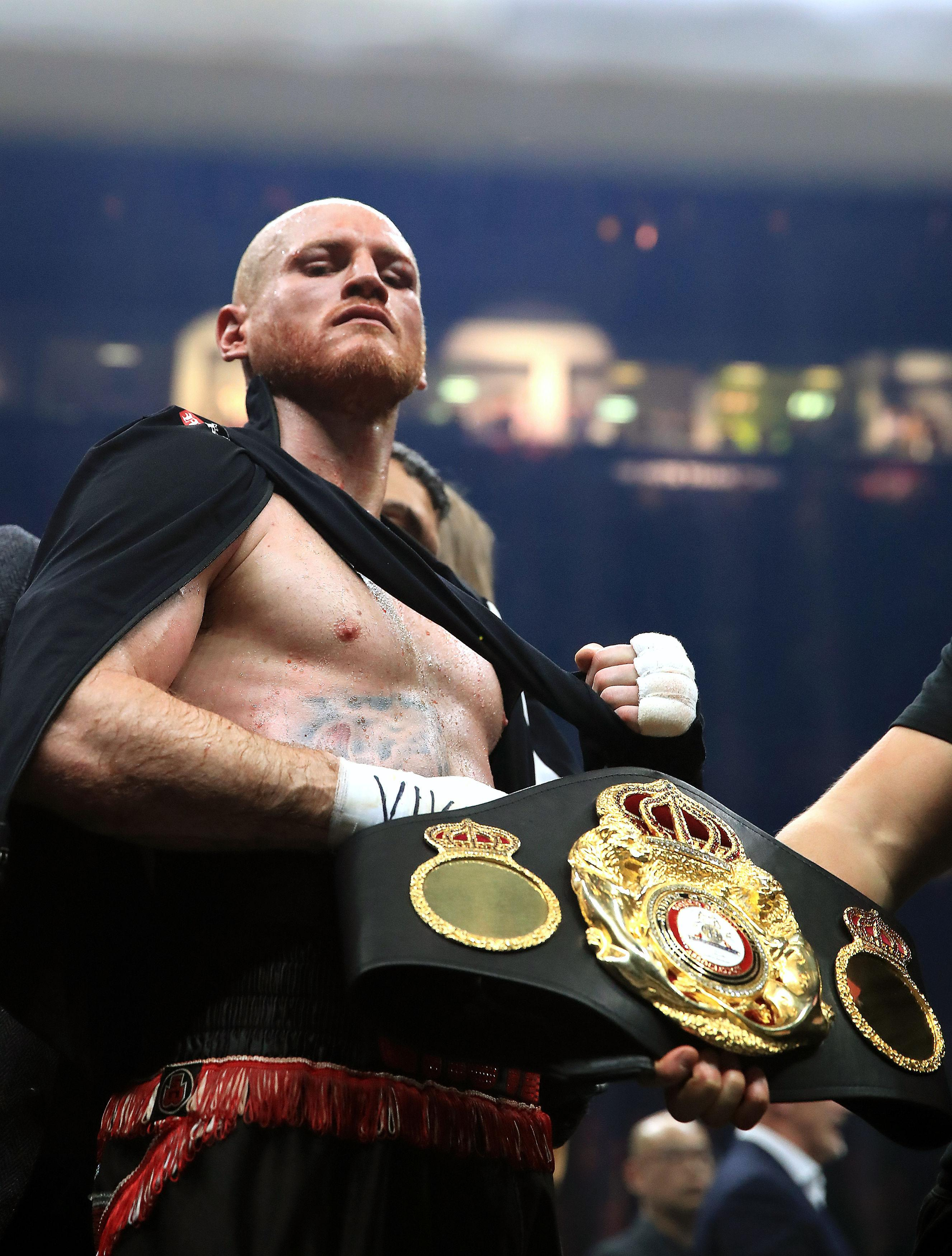 On the line in Saudi Arabia on September 28 will be George Groves WBA middleweight title when he fights Callum Smith