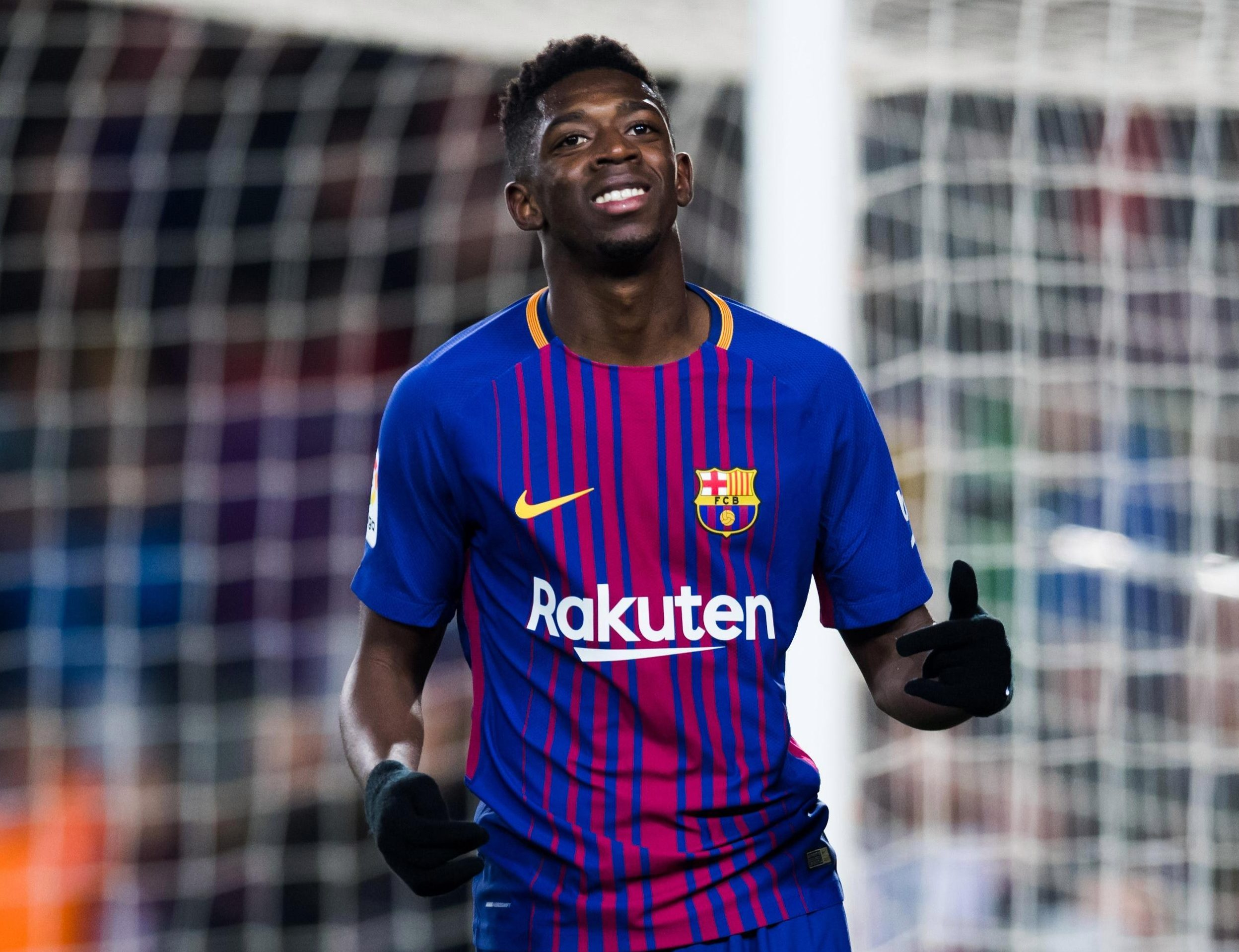 Ousmane Dembele is still a transfer target for Arsenal boss Unai Emery