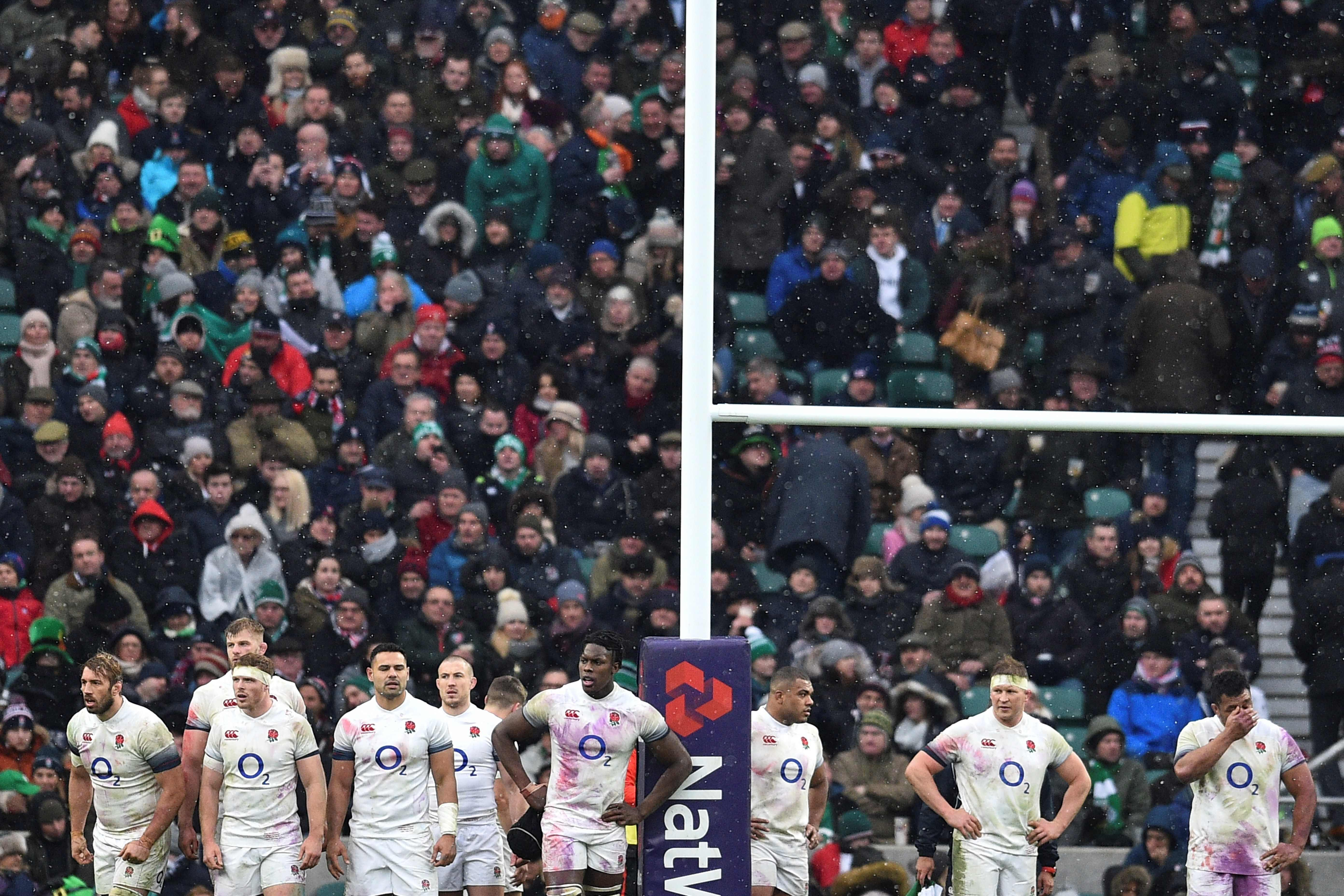 England endured a difficult Six Nations in 2018, losing three of their five matches