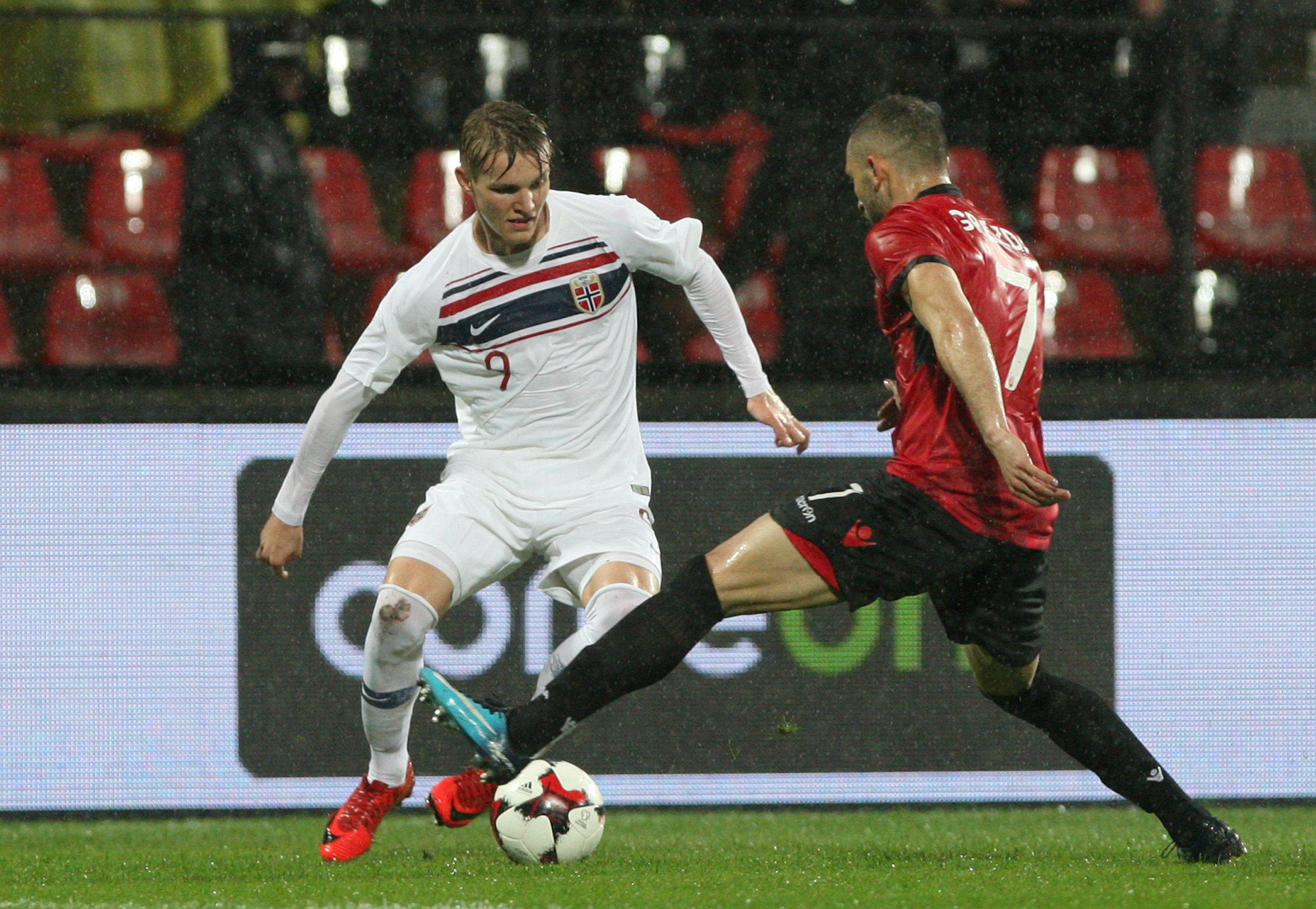 Teenage starlet Odegaard has racked up 12 caps for the Norwegian national team
