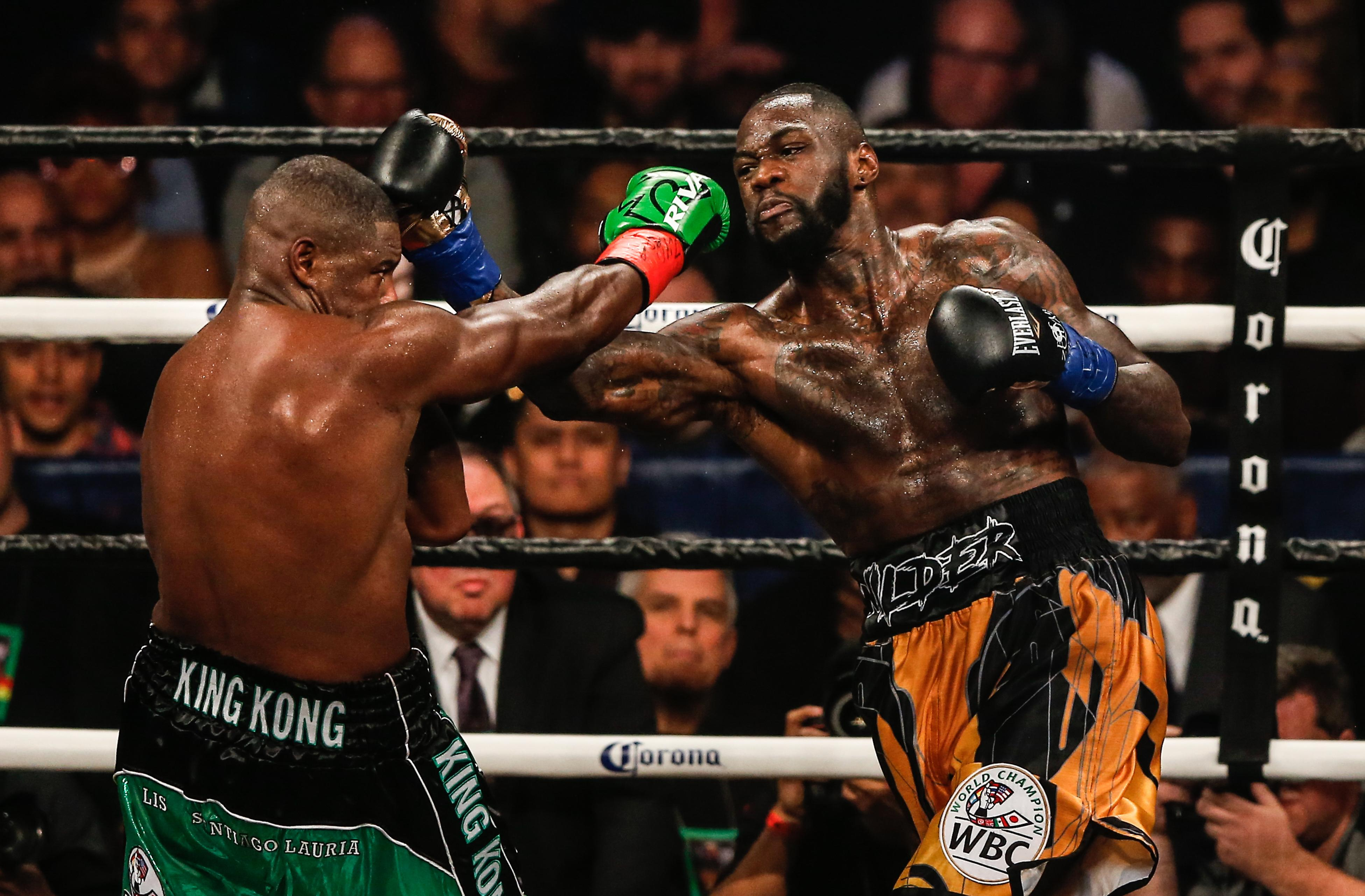 Deontay Wilder has fearsome power - and one man knows all about that