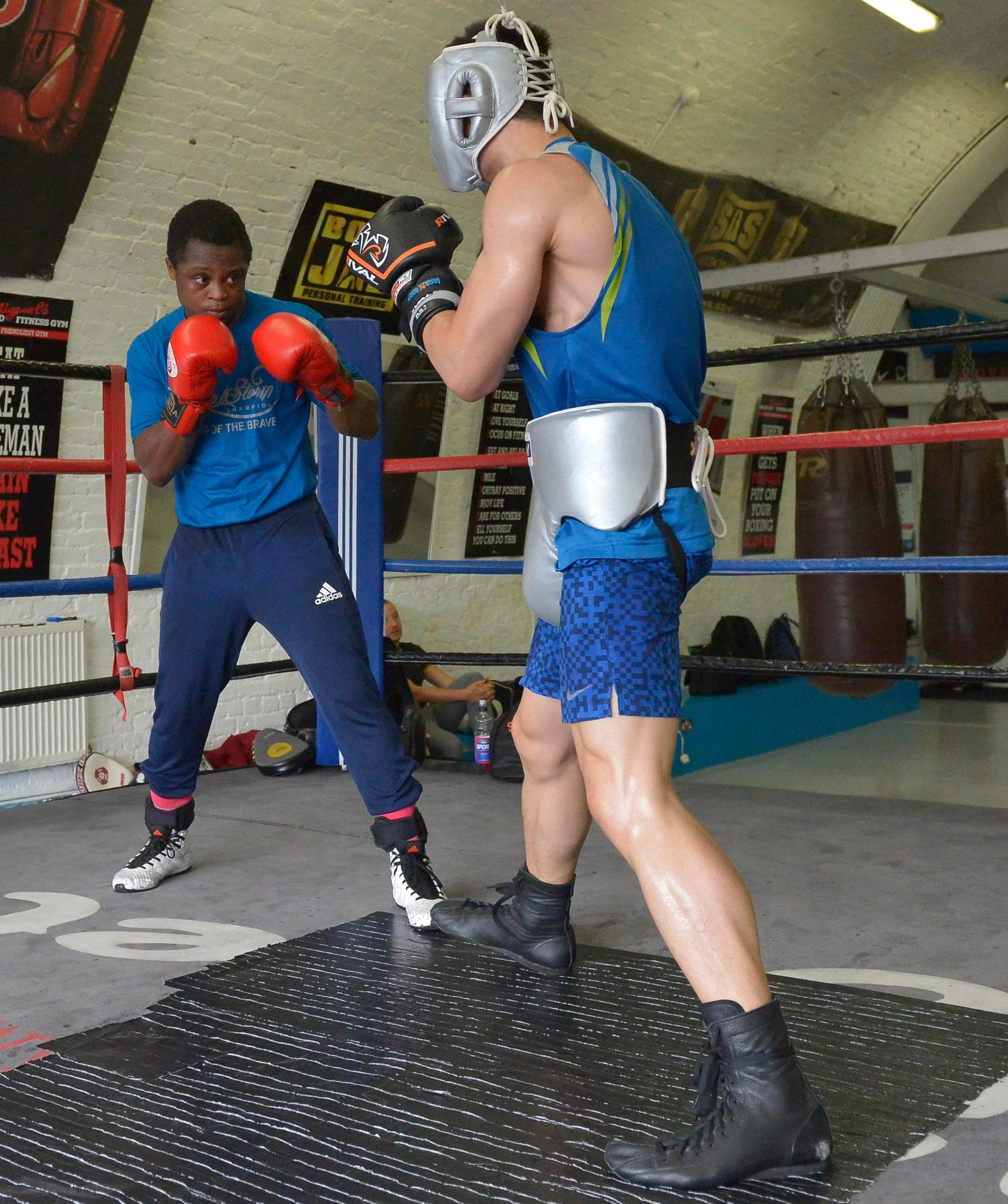 Many fighters in the super-bantamweight division tower over Dogboe