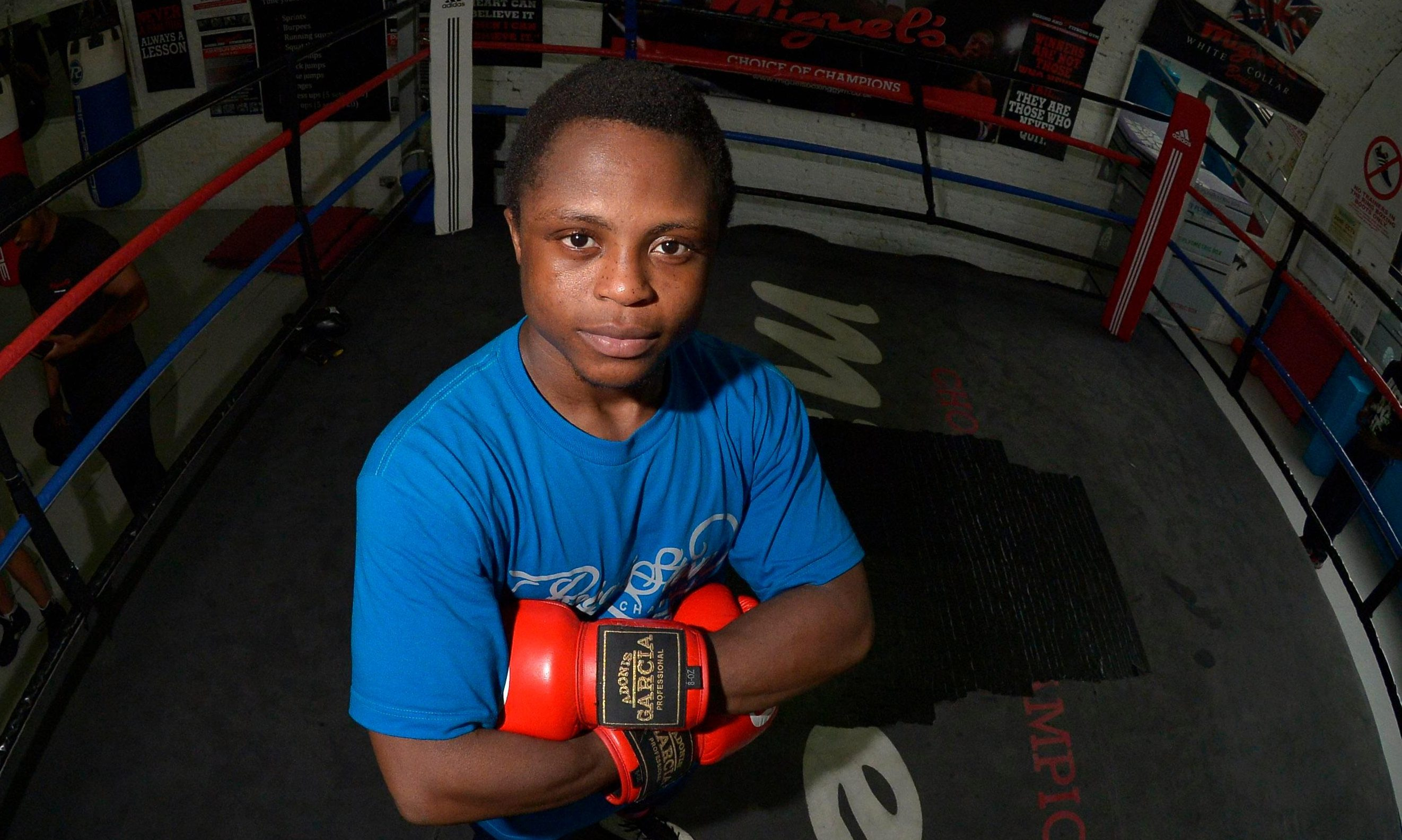 South London has been home to Isaac Dogboe since he was sent to reunite with his father aged eight