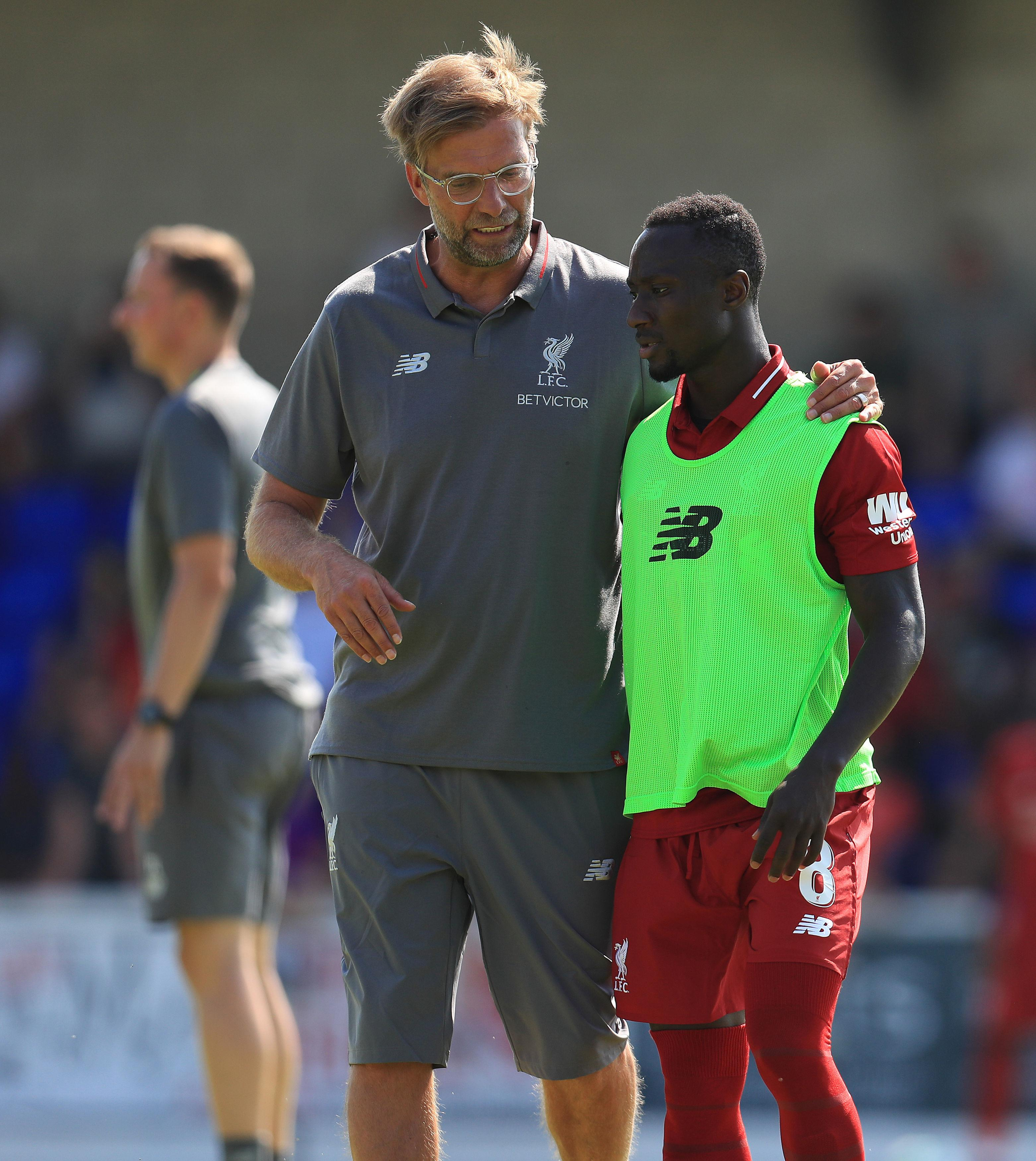 Naby Keita has arrived from RB Leipzig after Liverpool loaned the midfielder back to the German club last term