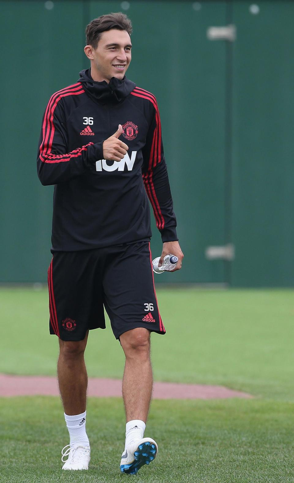 Napoli have submitted an offer for Darmian who is unhappy with the lack of game time at United